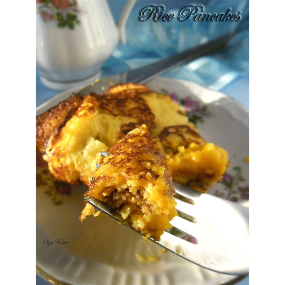 Rice Pancakes Olga