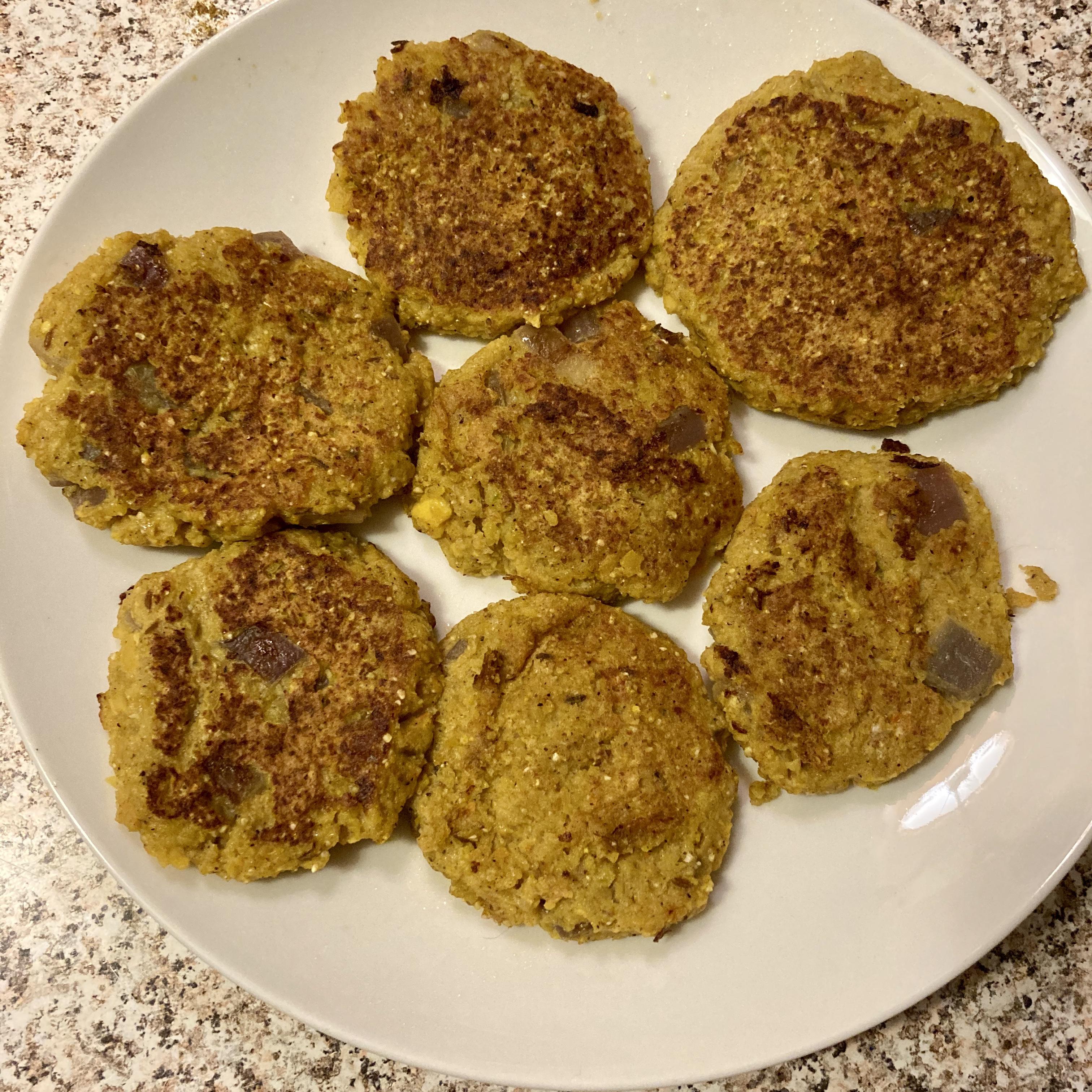 Butternut Squash Cakes rebecca