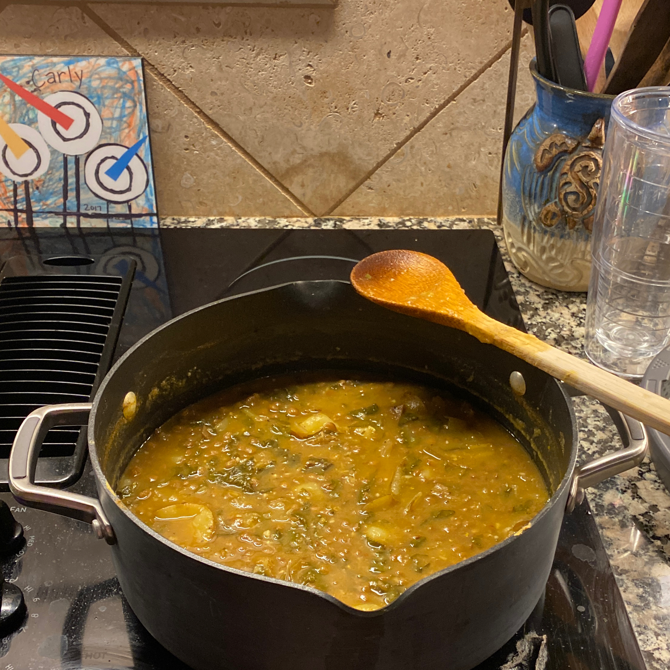 Chard Lentil Soup, Lebanese-Style Melissa Bahnick Cook