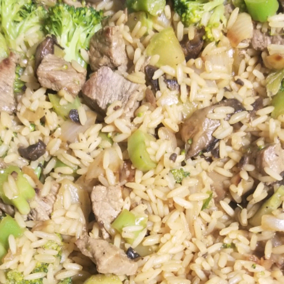 Savory Beef & Broccoli Rice Kathy Hoven