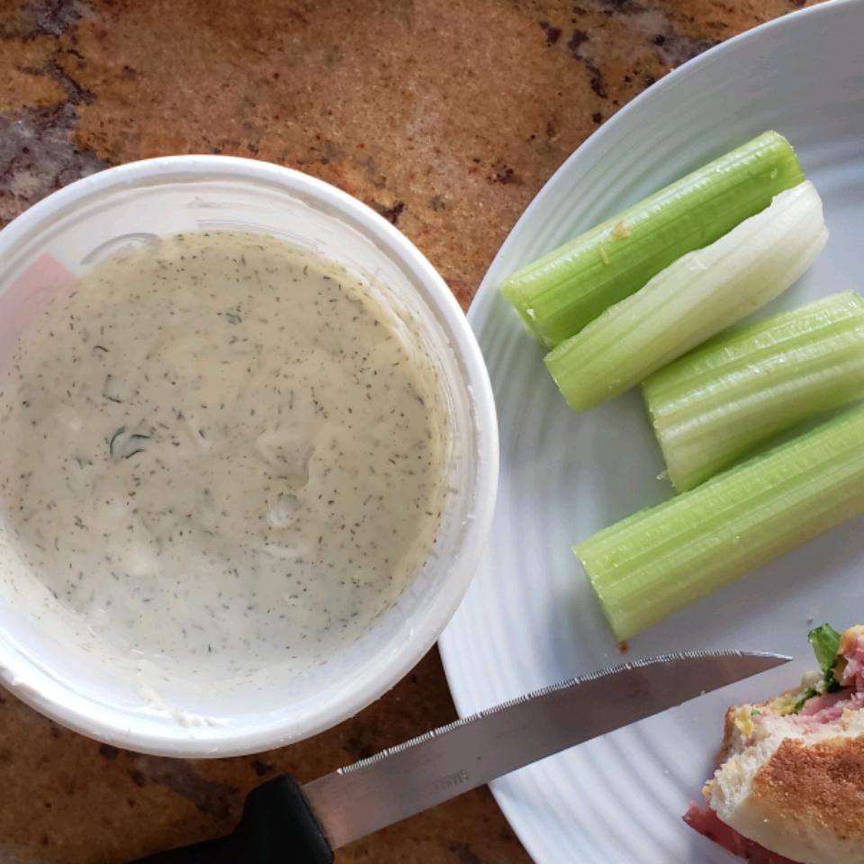 Mom's Famous Raw Vegetable Dip Angela