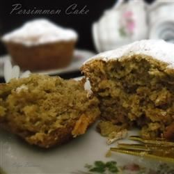 Persimmon Brunch Cake Olga