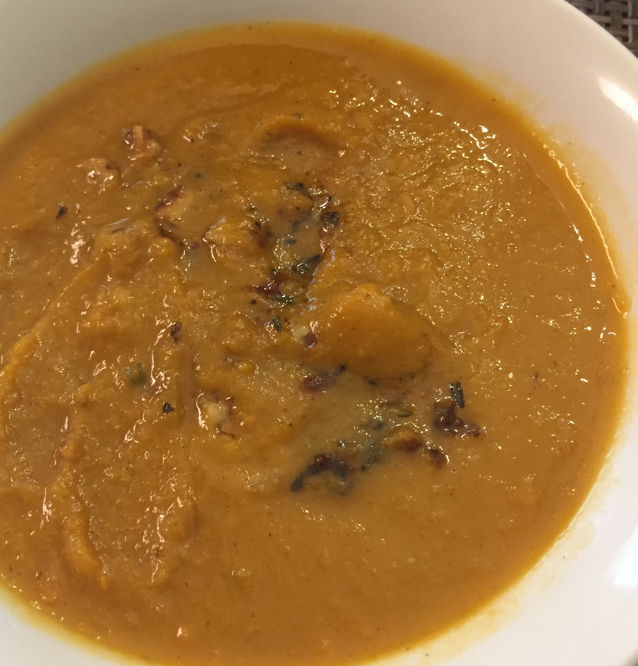 Coconut Curry Butternut Squash Soup LITTLESOAP