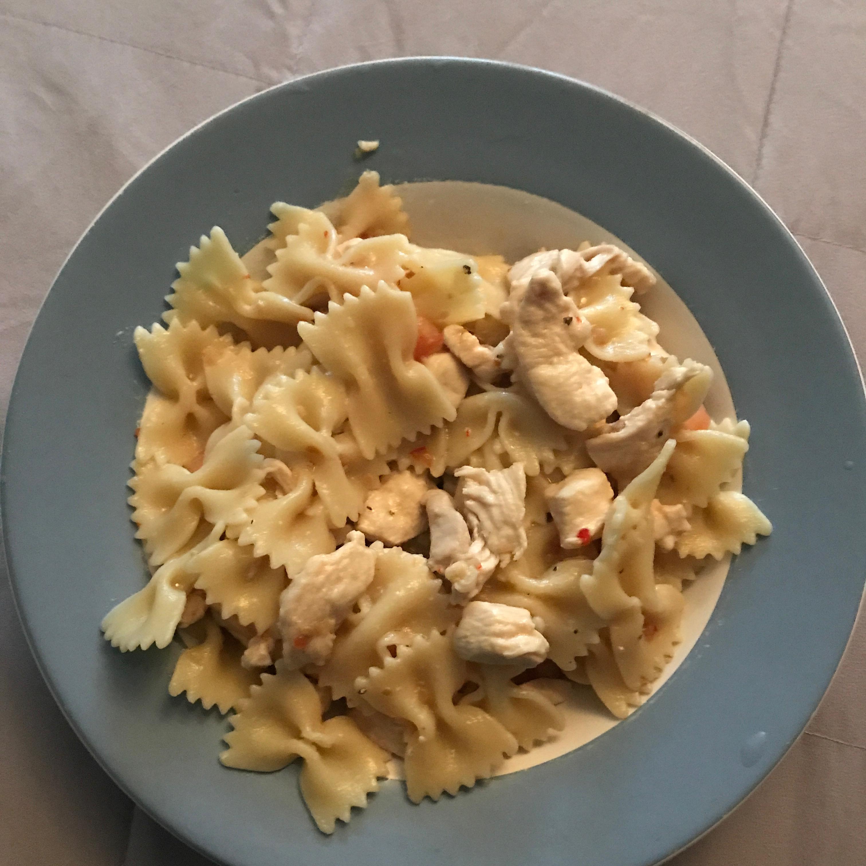 Italian Chicken Bow Tie Pasta Grumpy1820