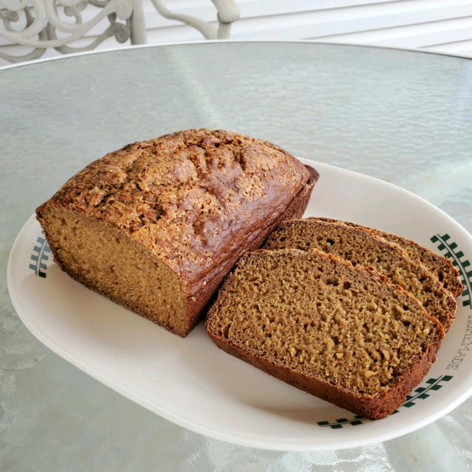 Whole Wheat Maple Quick Bread