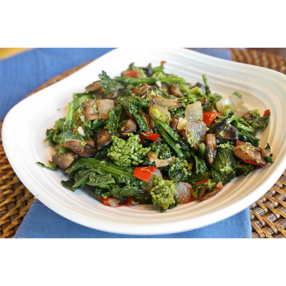 Broccoli Rabe with Portobello Mushroom naples34102