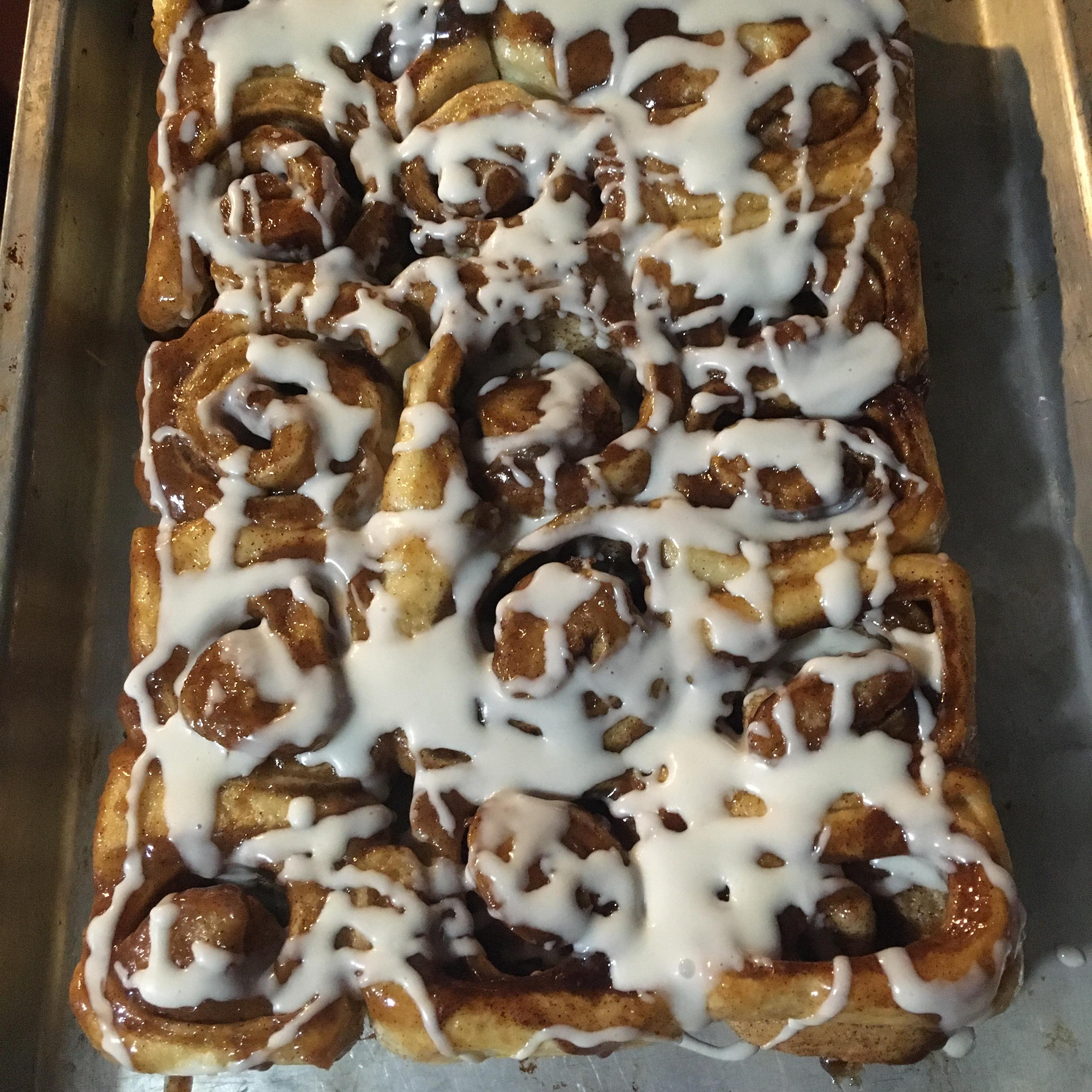 Cinnamon Rolls From Frozen Bread Dough - EASY Bangs