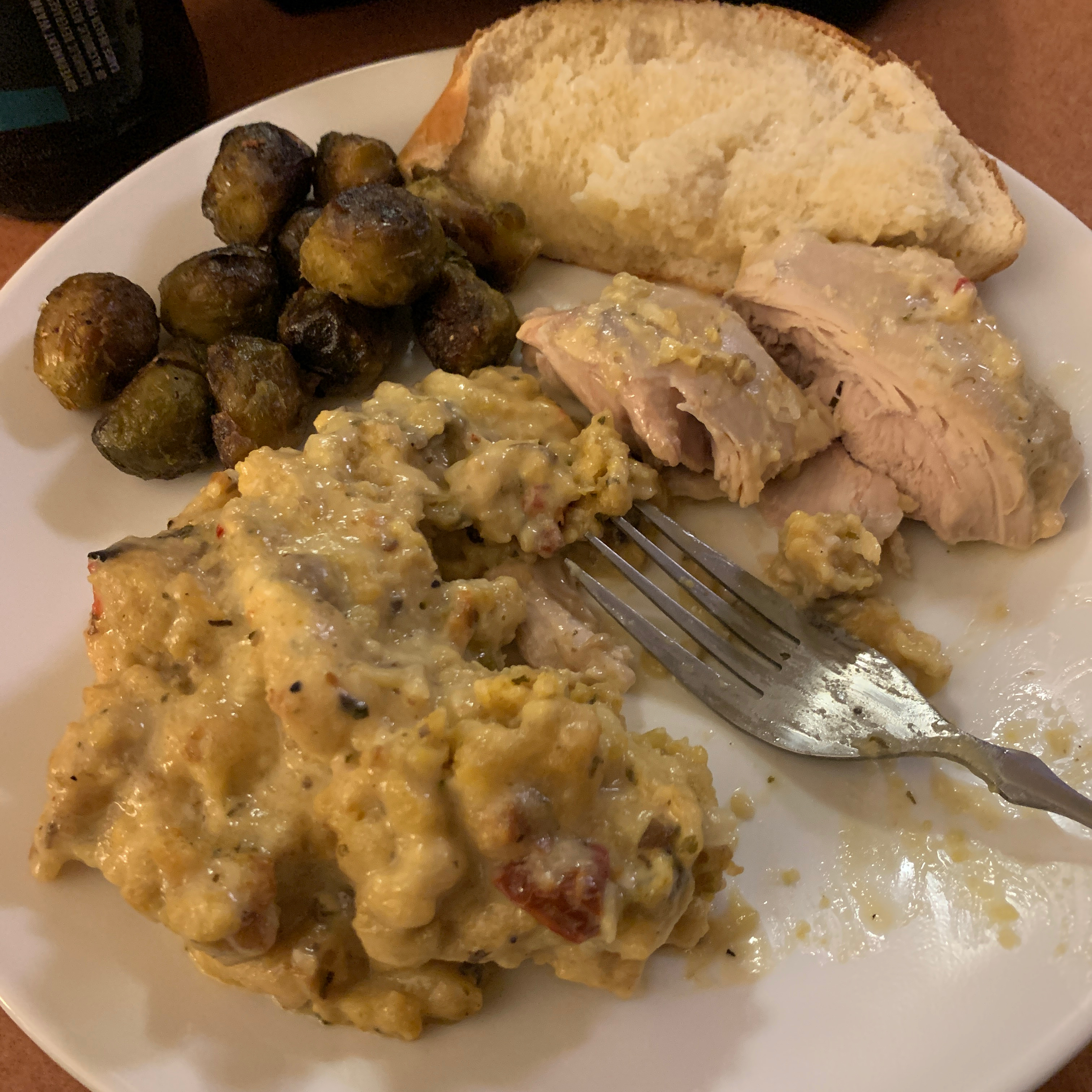 Baked Chicken and Stuffing Michele Lannoye