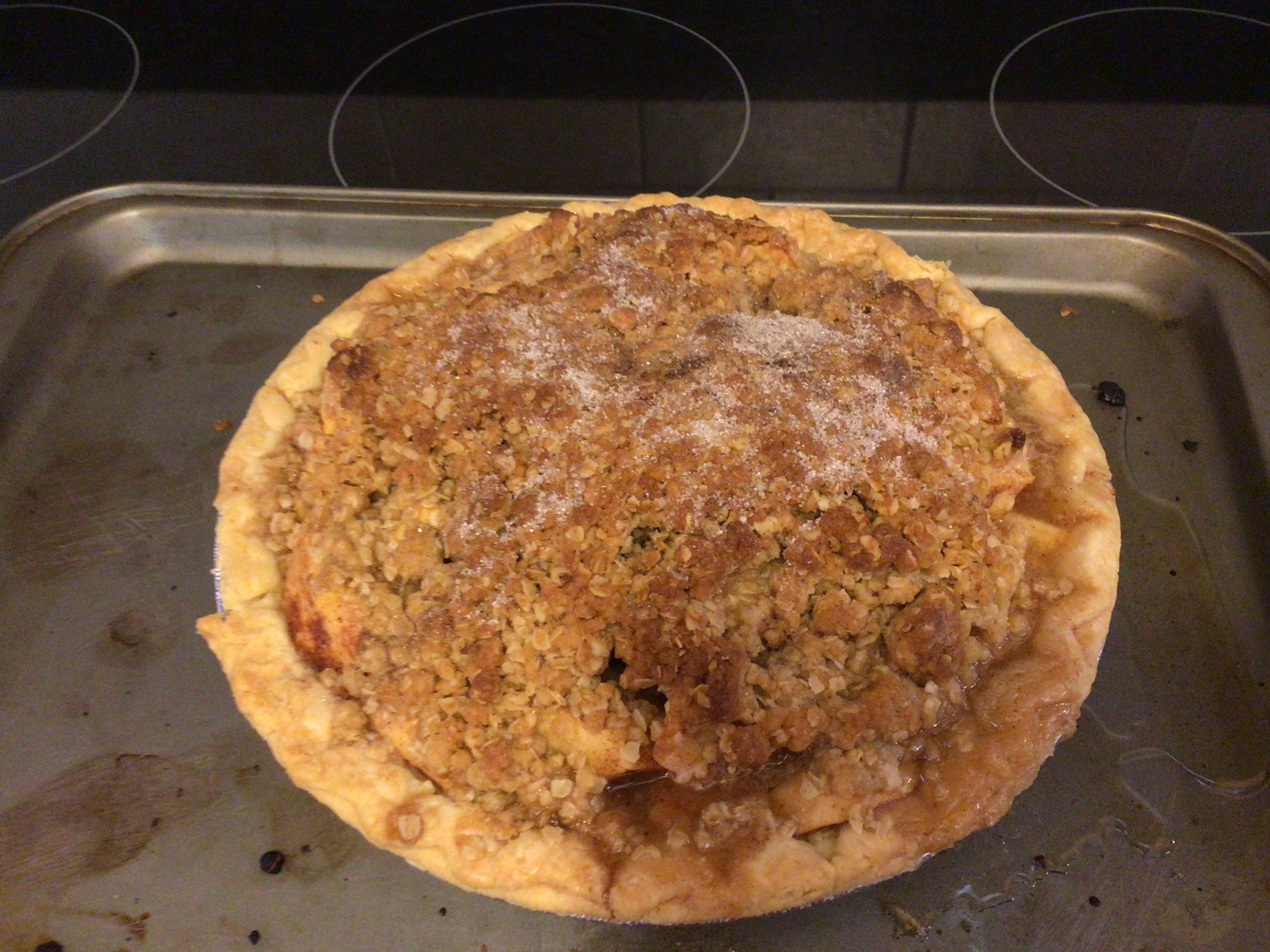 Perfect Apple Crisp Pie Lynn