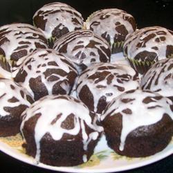 Grandma's Eggless, Butterless, Milkless Cake BACON BITS