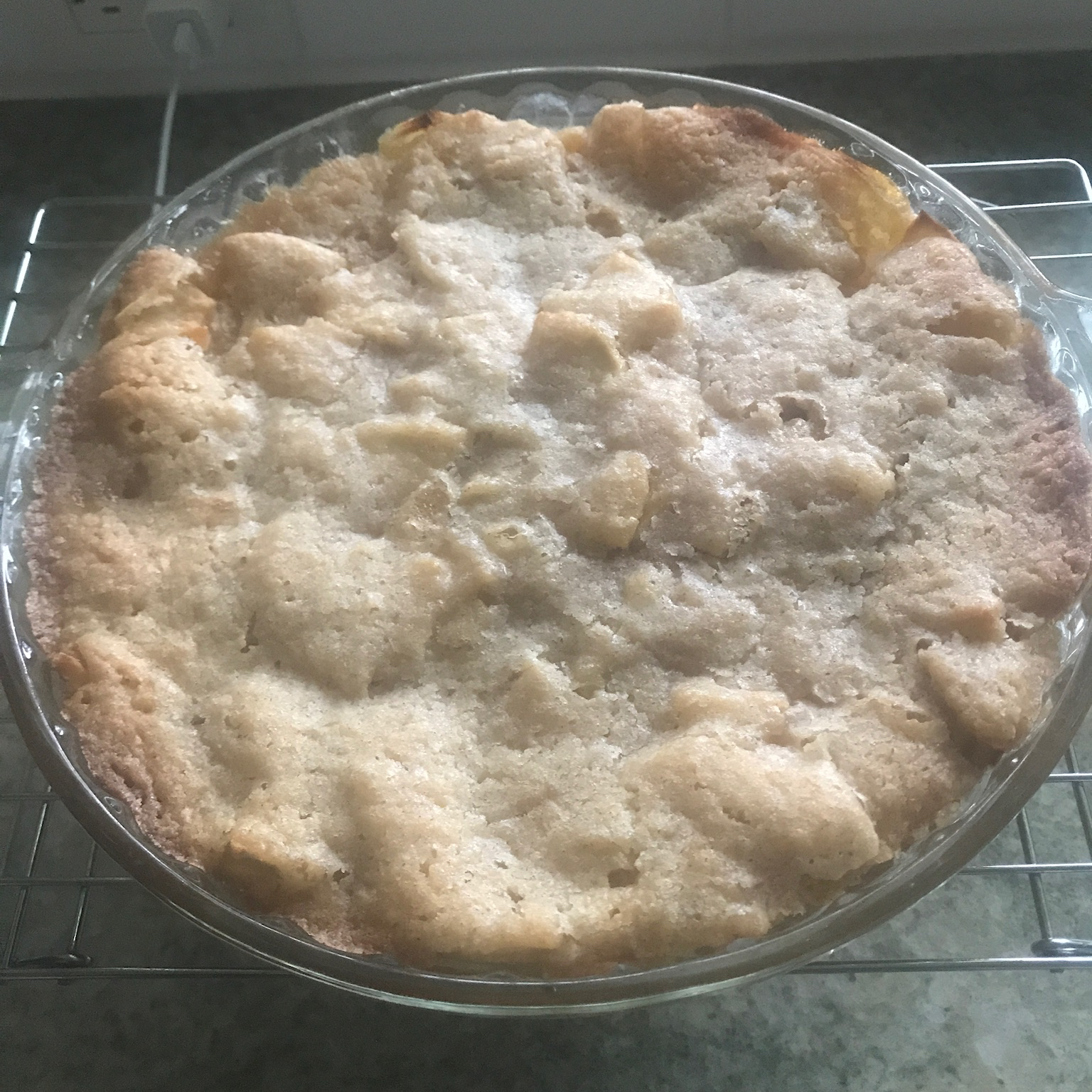Easy Swedish Apple Pie