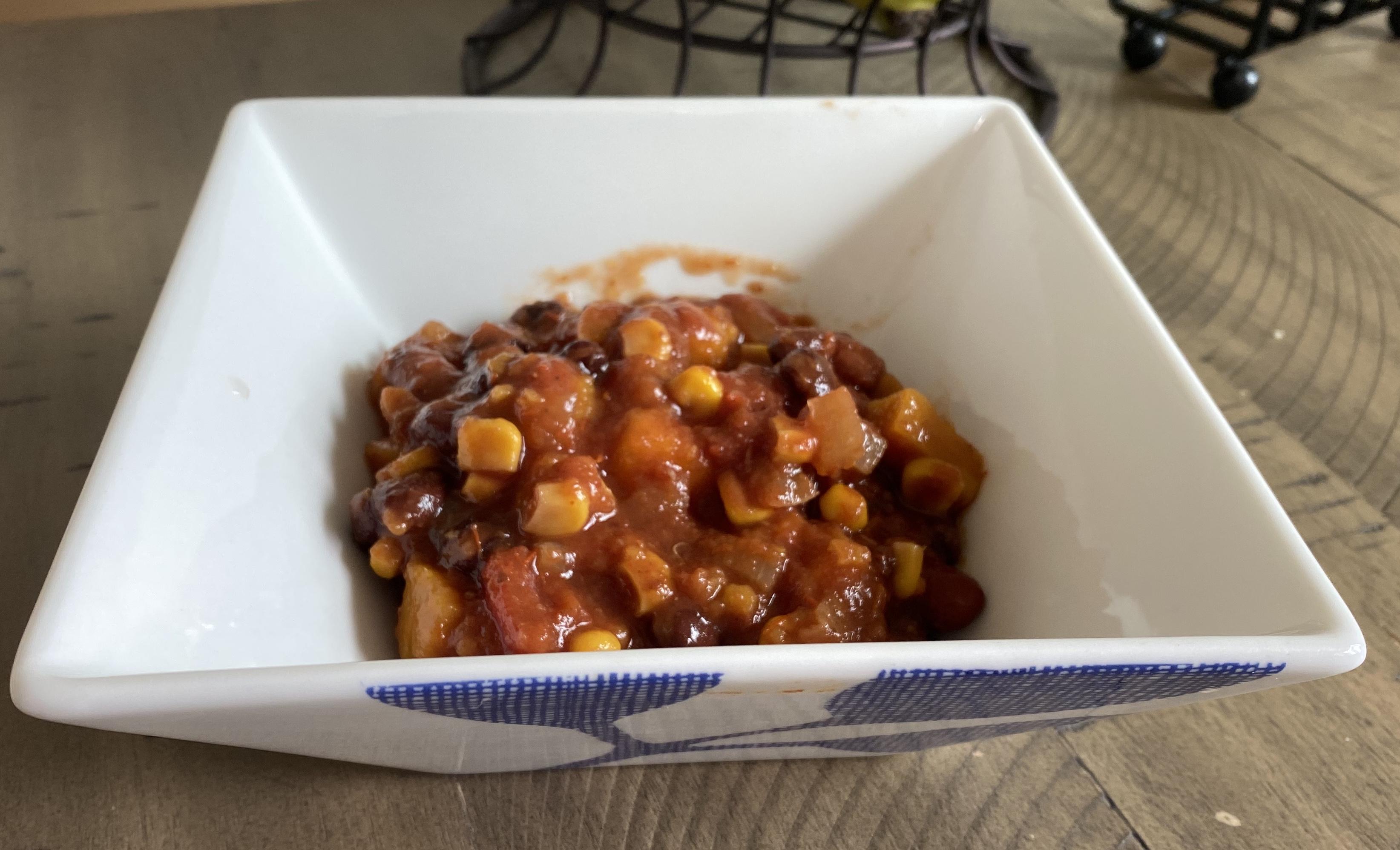 Slow Cooker Sweet Potato Chili Jacolyn