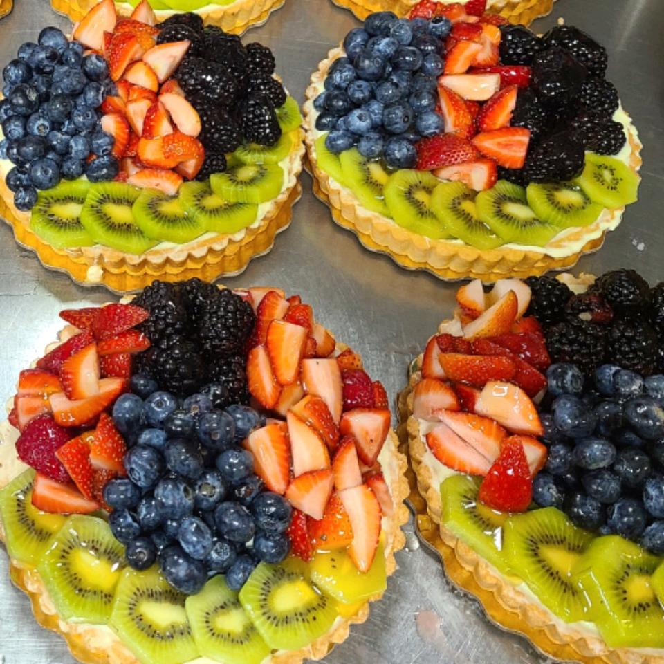 Summer Fruit Tart from Almond Breeze® Jewel