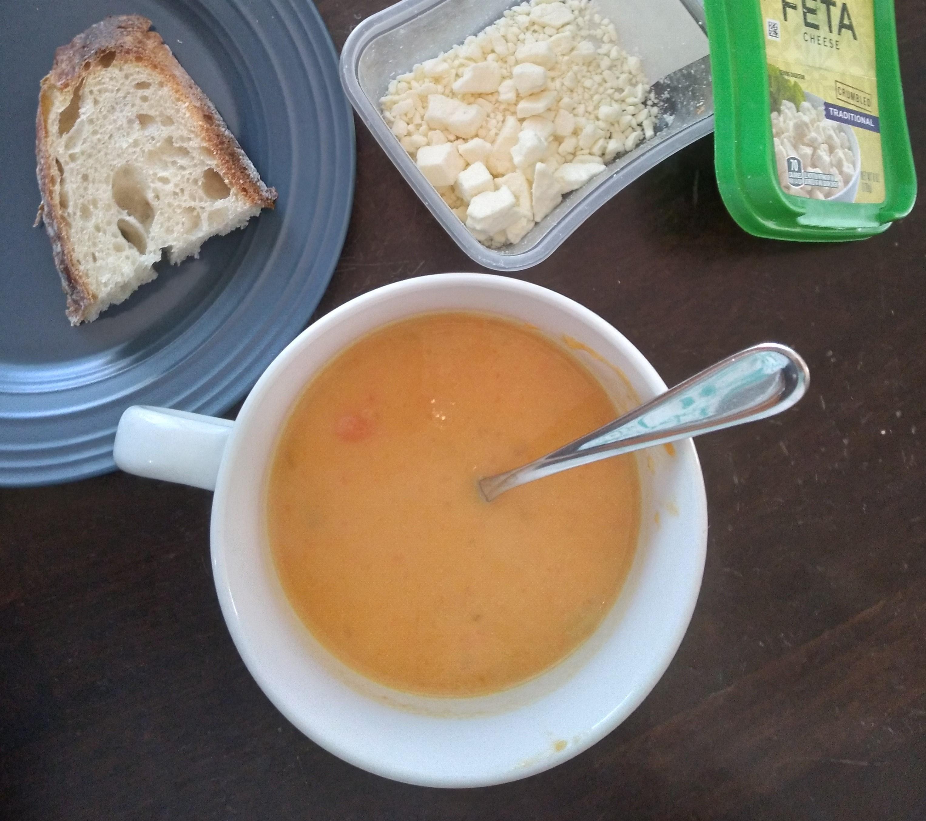 Sweet Potato and Apple Soup Jonathan W