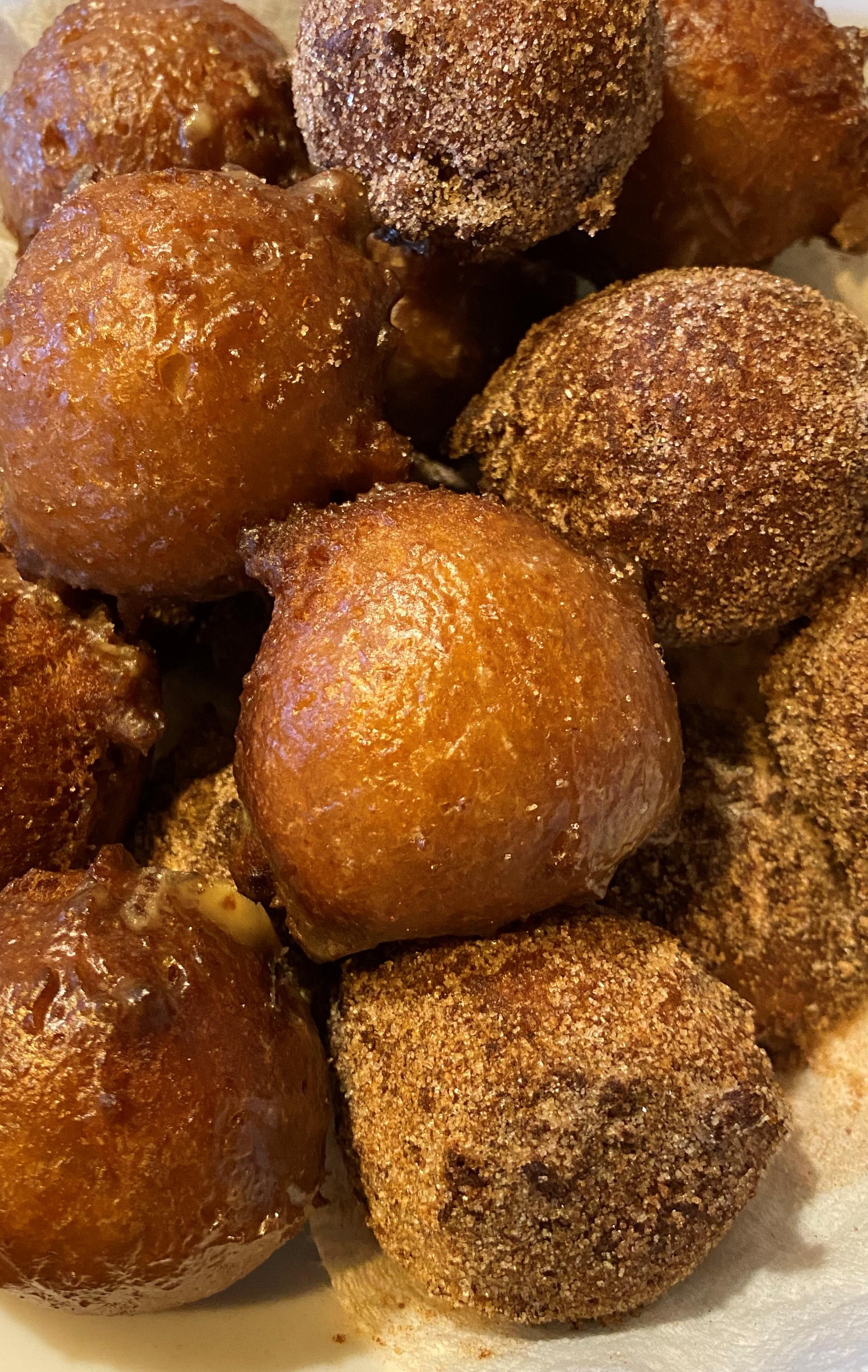 Applesauce Doughnuts Anne Van de Kamp