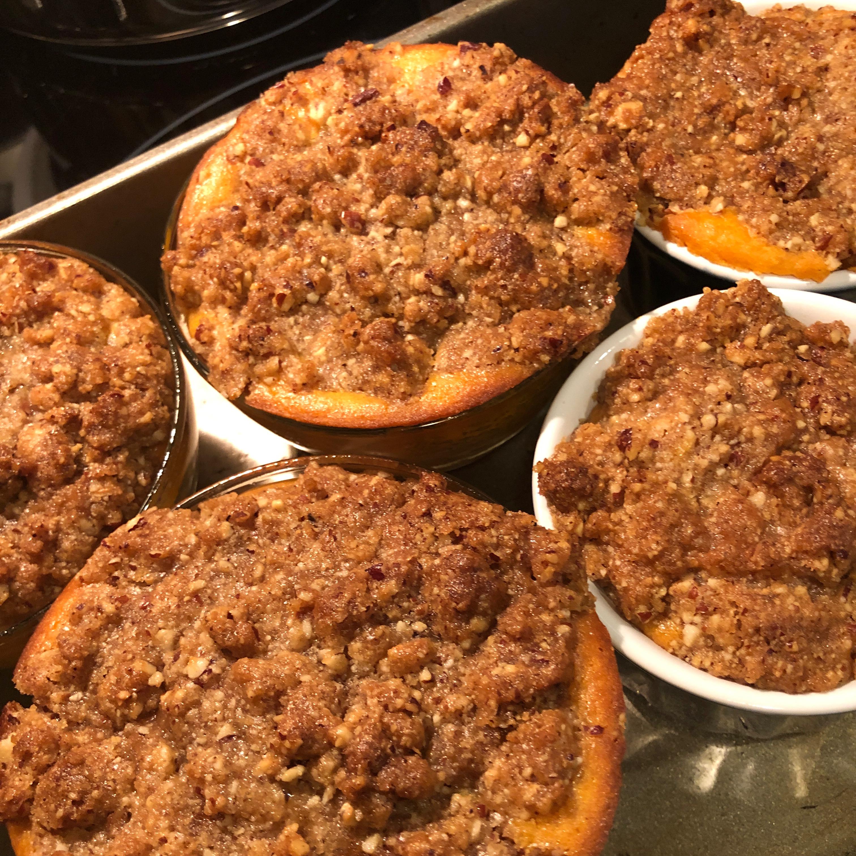 Sweet Potato Streusel Casserole with Coconut bettyaeth
