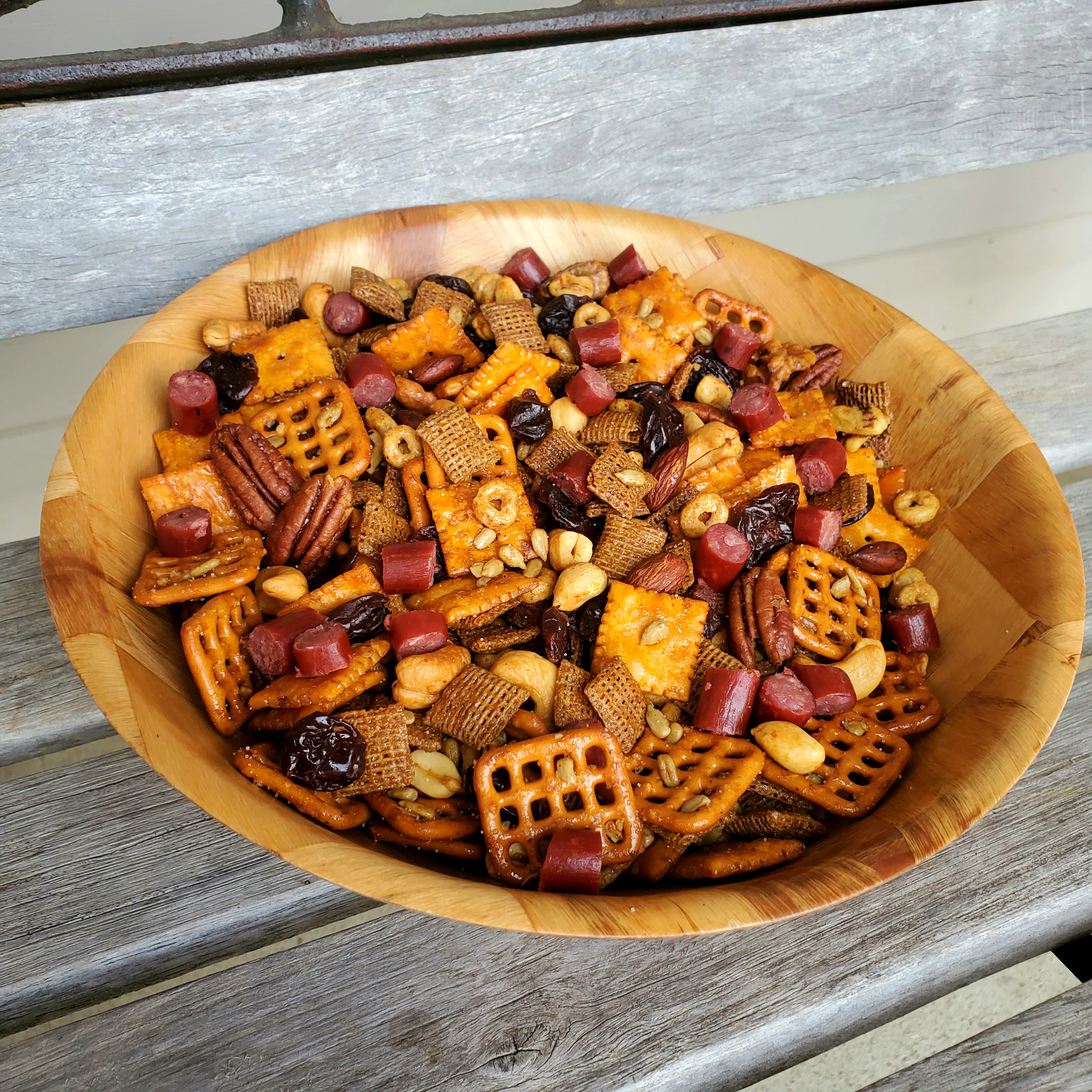 Sweet and Spicy High-Protein Snack Mix
