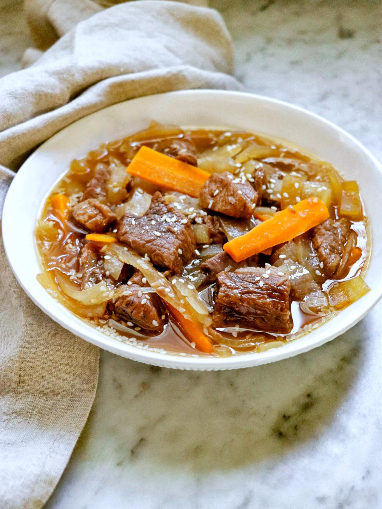 Korean Beef Stew
