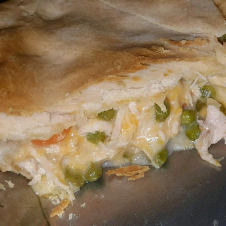 Cheesy Chicken Pot Pie