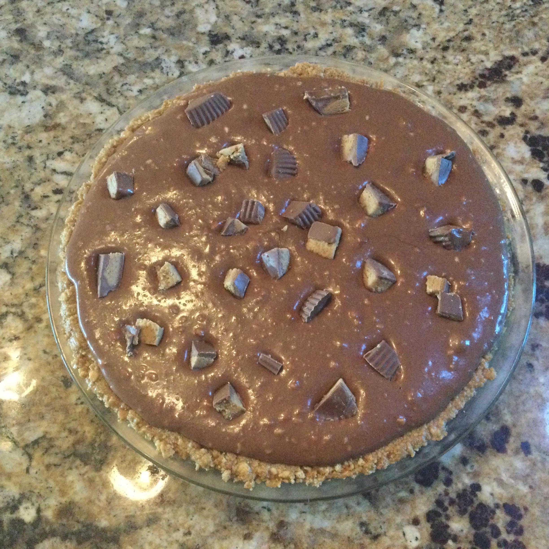 Easy Chocolate Cheesecake Peanut Butter Pie Joyce
