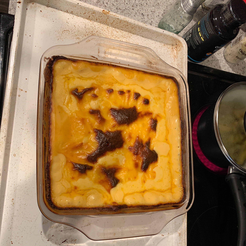 Healthier Creamy Au Gratin Potatoes