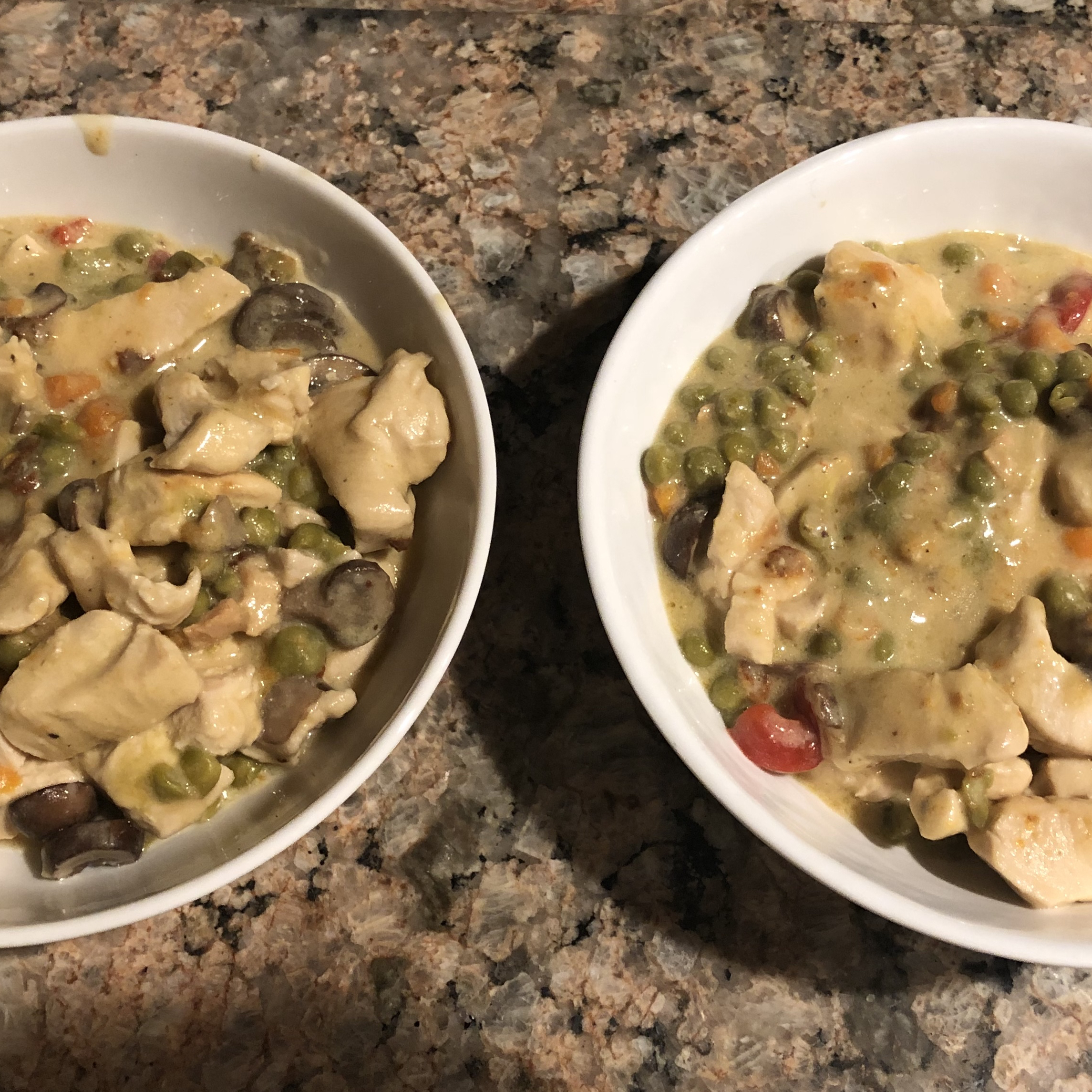 Easy Skillet Chicken a la King Christopher Caldwell