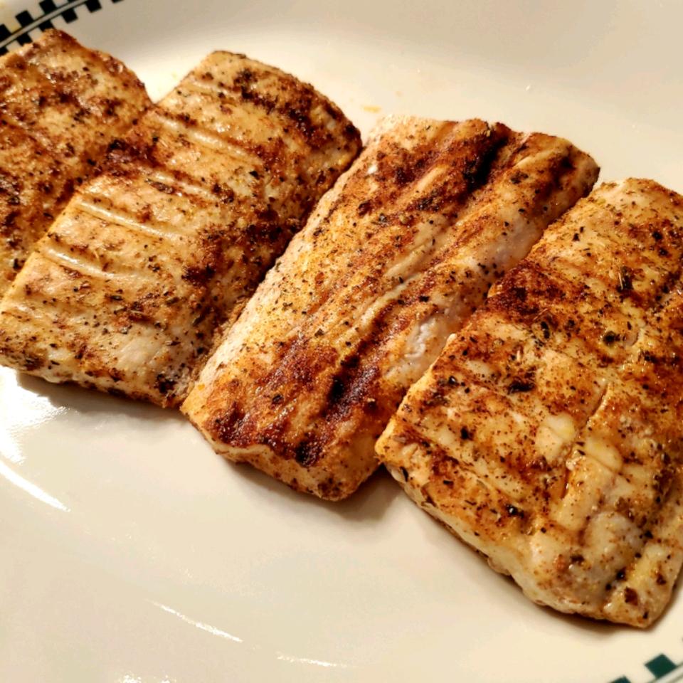 Easy Grilled Mahi Mahi
