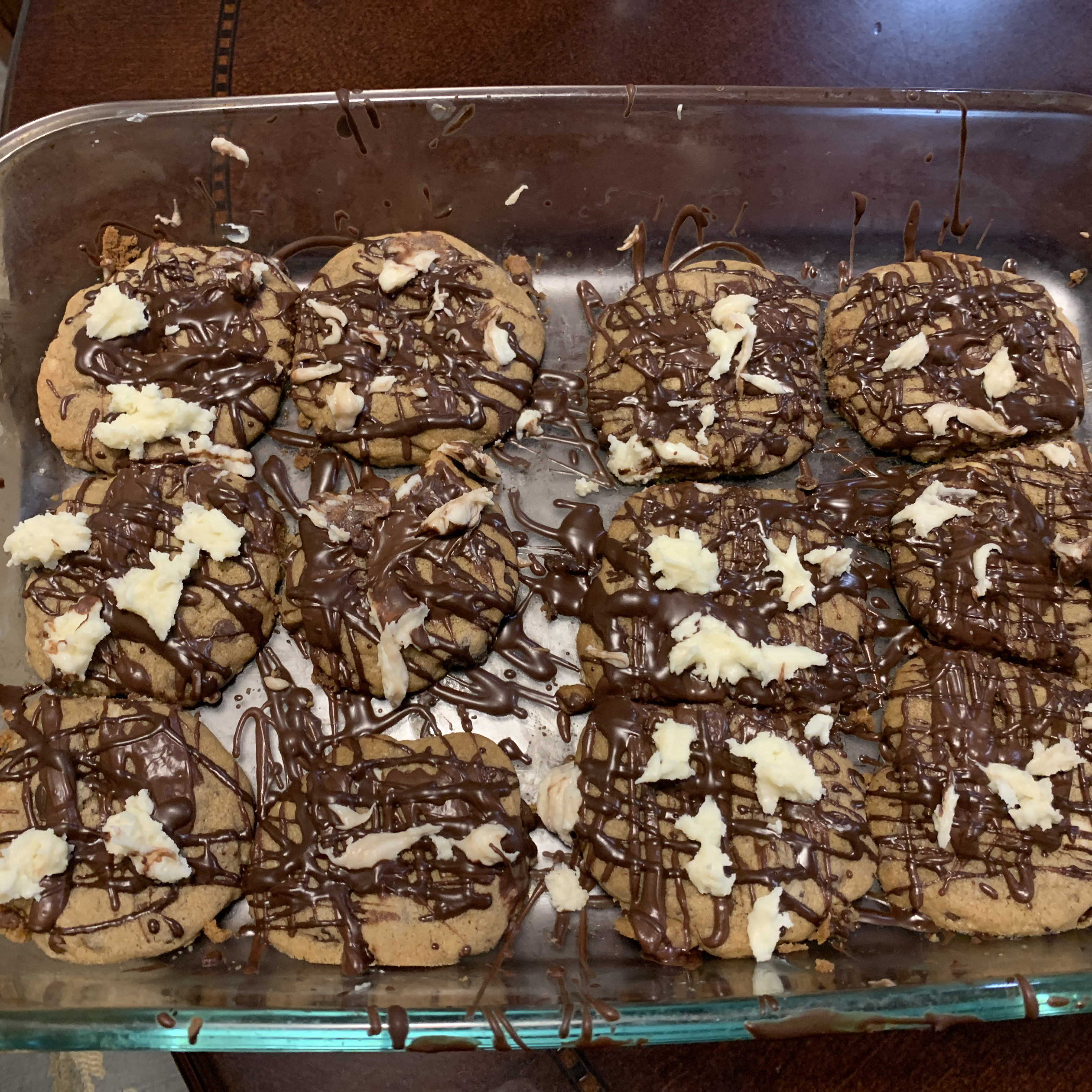 Triple Chocolate Chunk Cookie jennifer wang