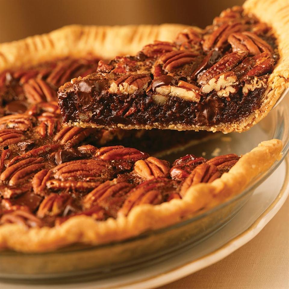 Chocolate Pecan Pie from Karo® Karo Corn Syrup