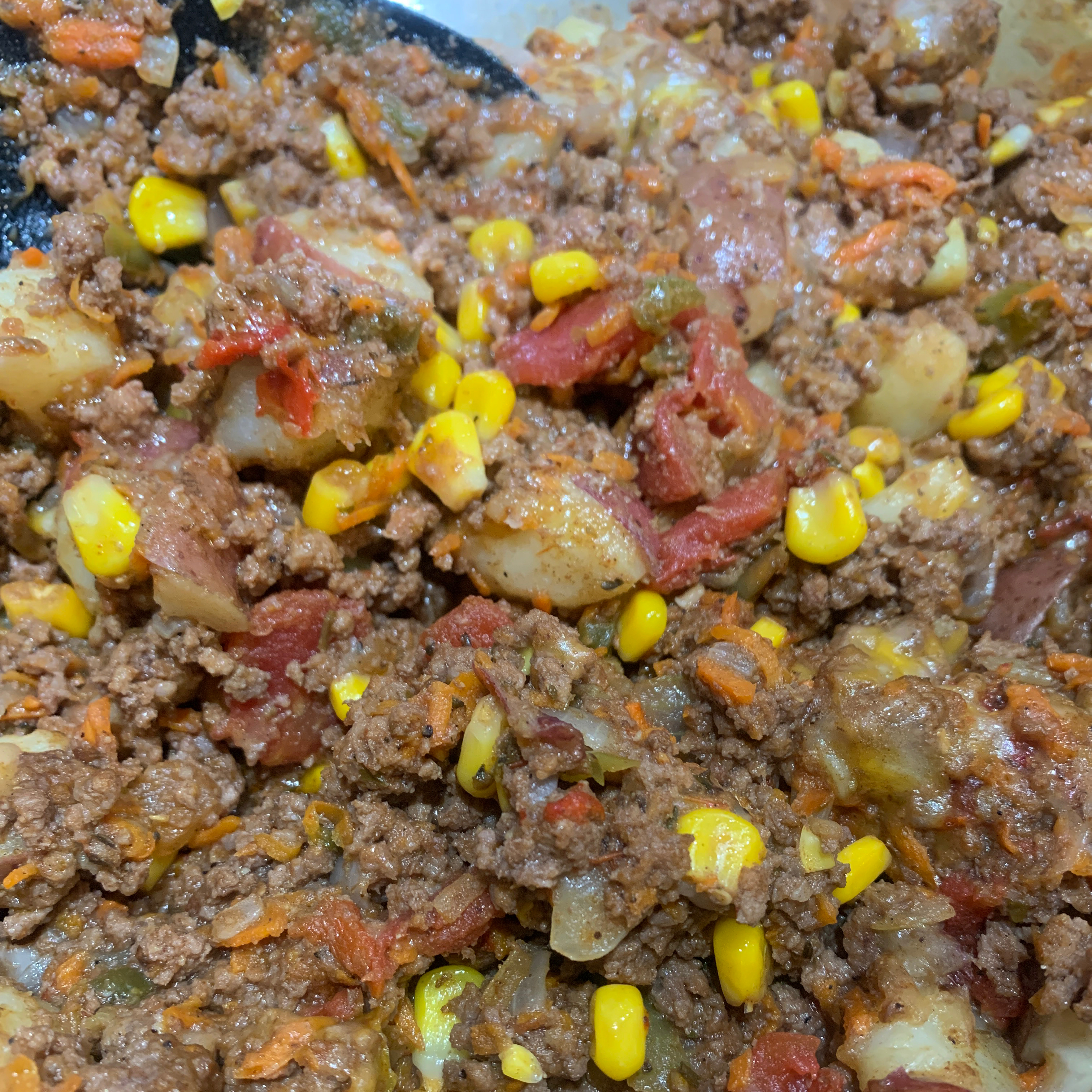 Mexican Ground Beef and Potato Skillet Japsnoet