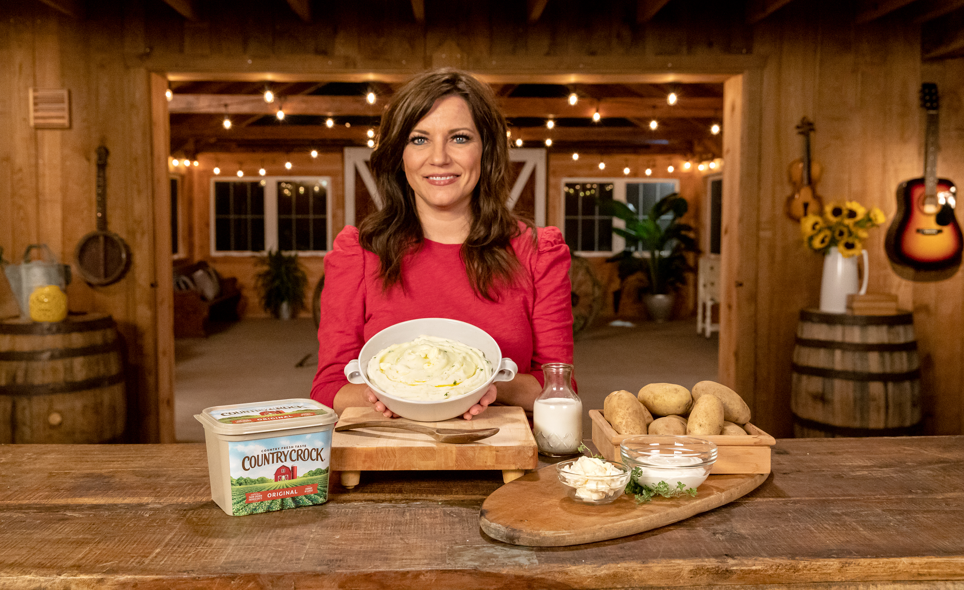 Martina McBride's Kansas Creamy Mashed Potatoes Country Crock®