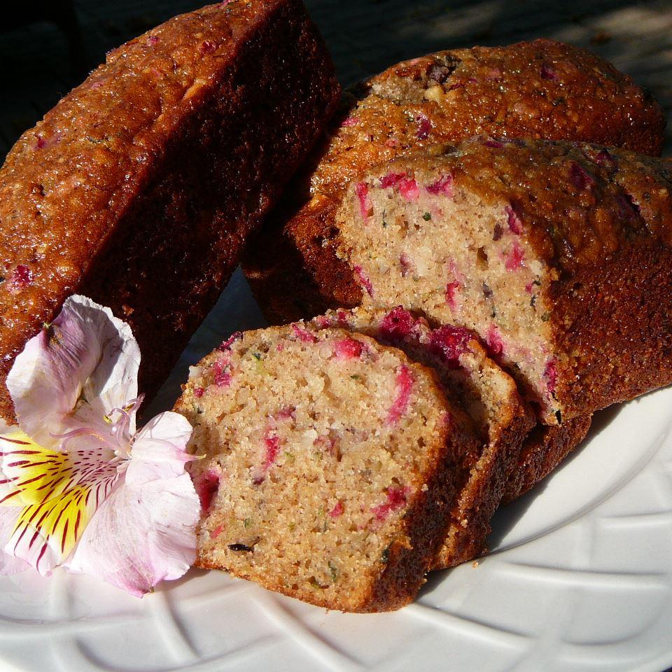 Cranberry Zucchini Bread Molly
