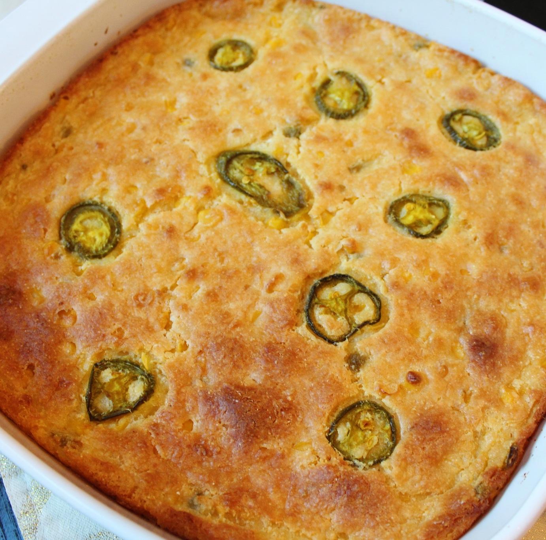 Jalapeno Creamed Corn Casserole