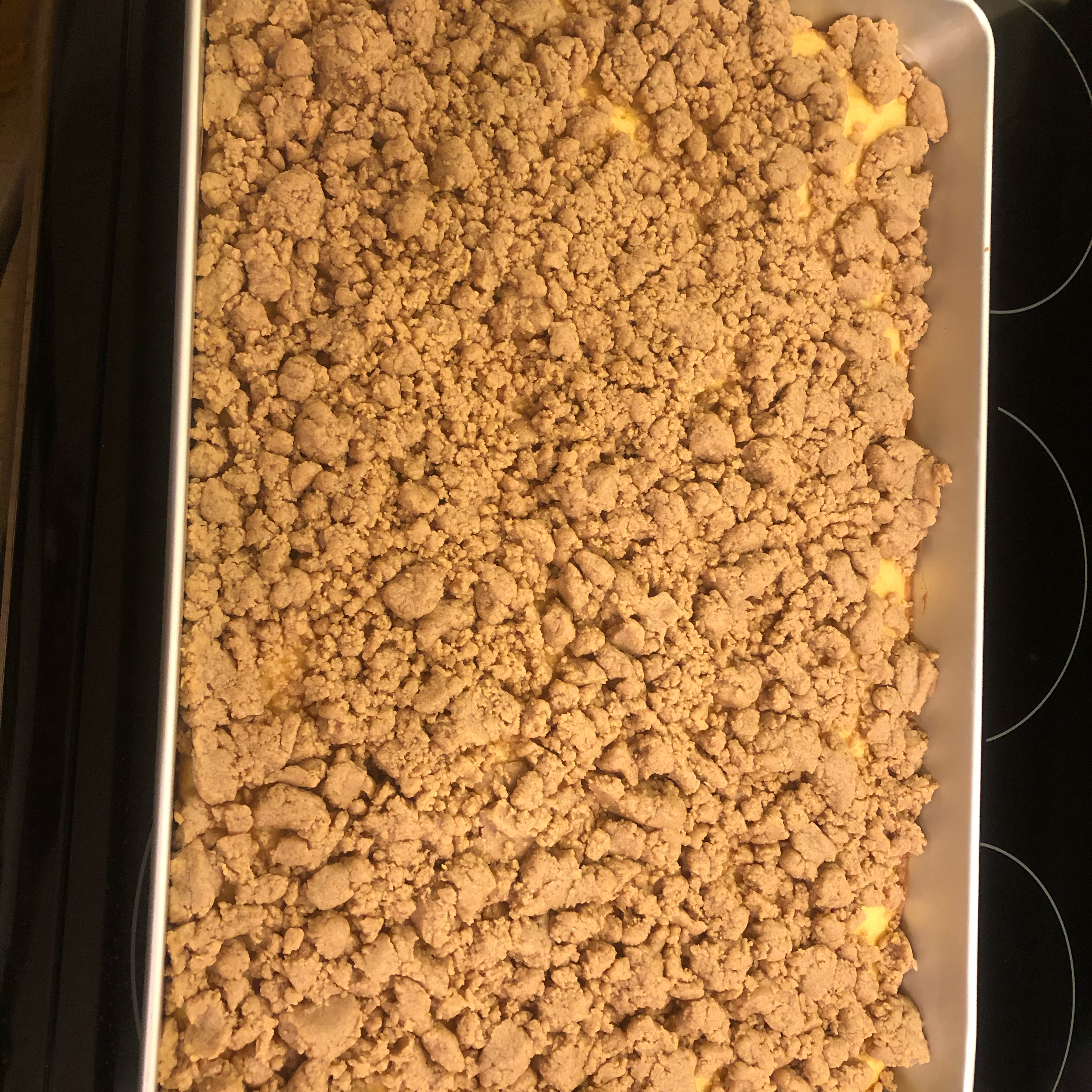 Outrageously Buttery Crumb Cake