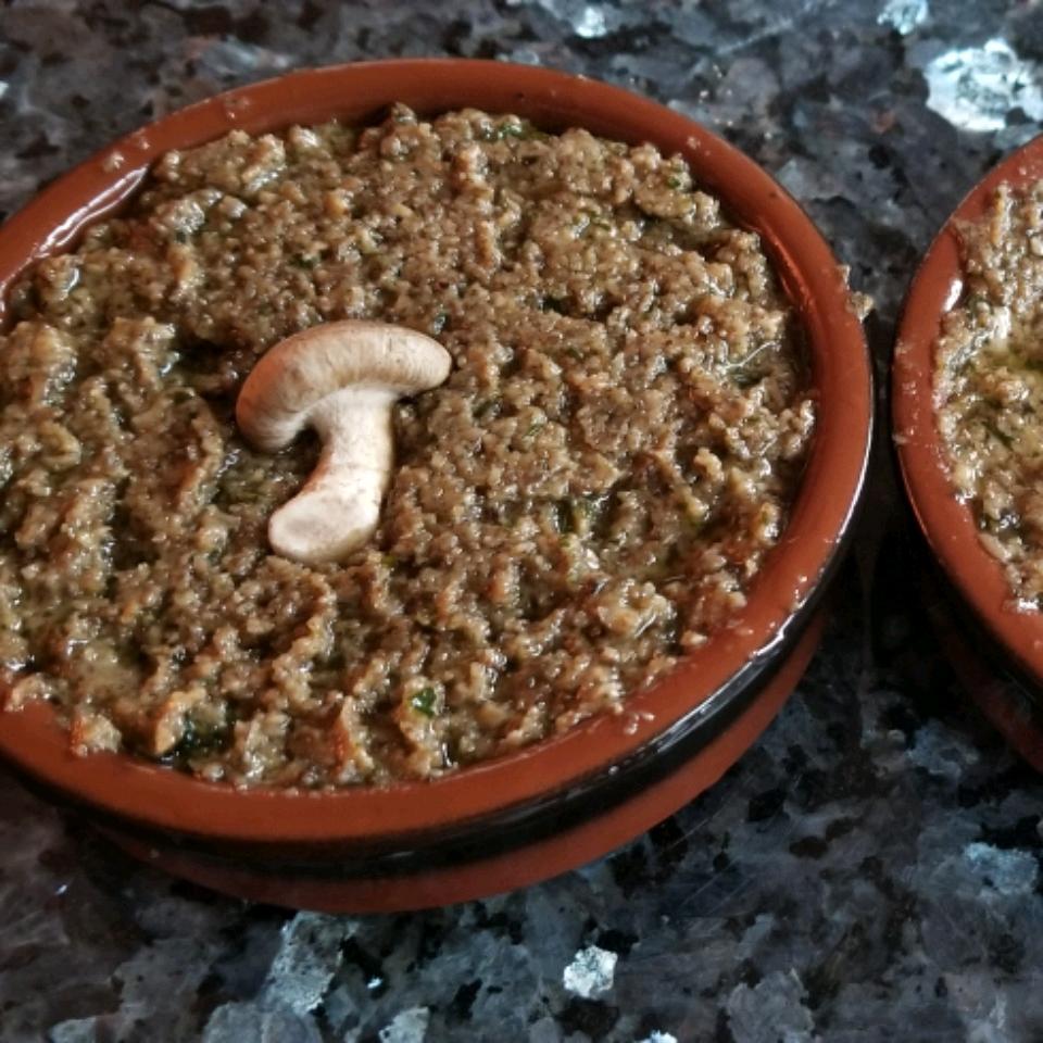Exotic Mushroom and Walnut Pate Moki Desiree