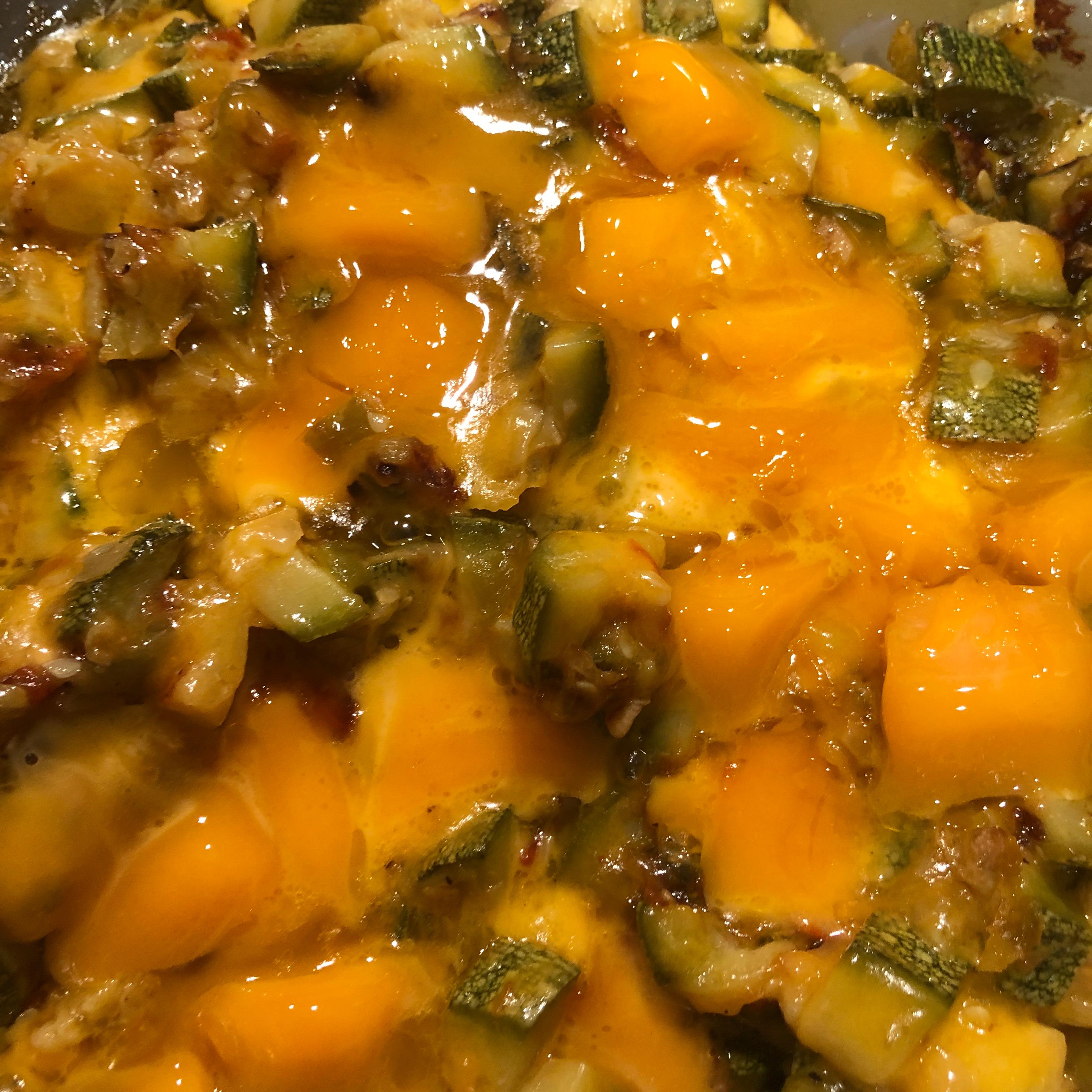 Calabacitas Con Queso (Squash with Cheese) CRC