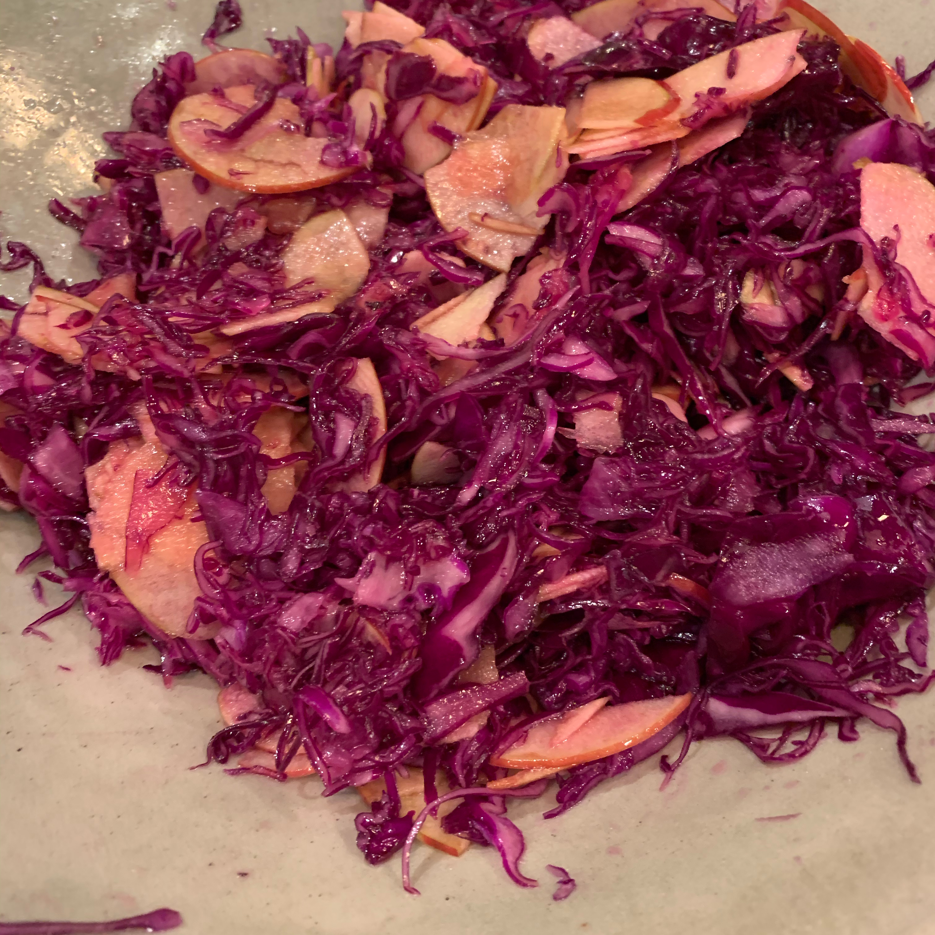 Red Cabbage Salad with Apples barbara