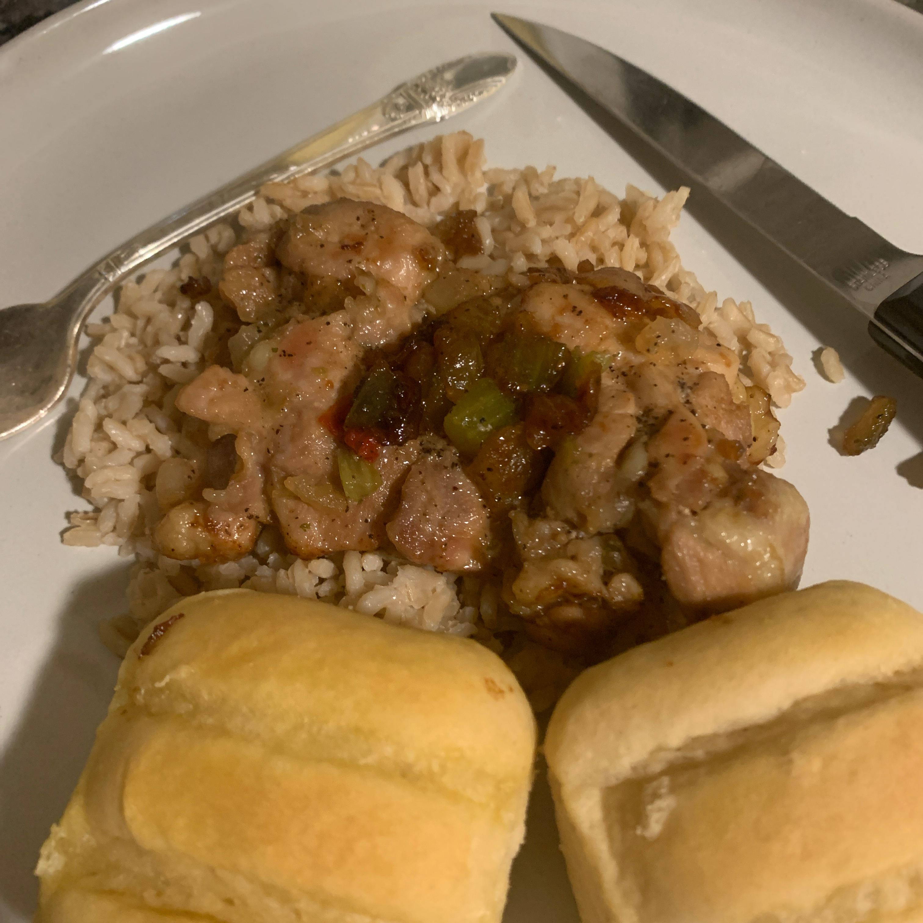 Pollo en Pipian (Chicken in Pipian Sauce)