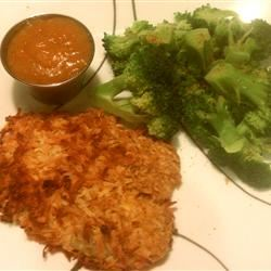 Coconut Tilapia with Apricot Dipping Sauce Multigrain