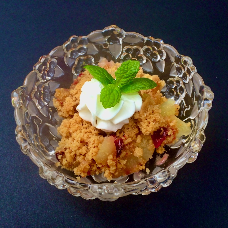 Shorecook's Cranberry-Apple Crisp