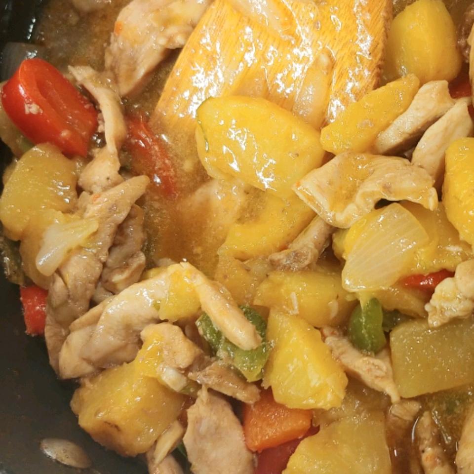 Easy Pineapple Chicken