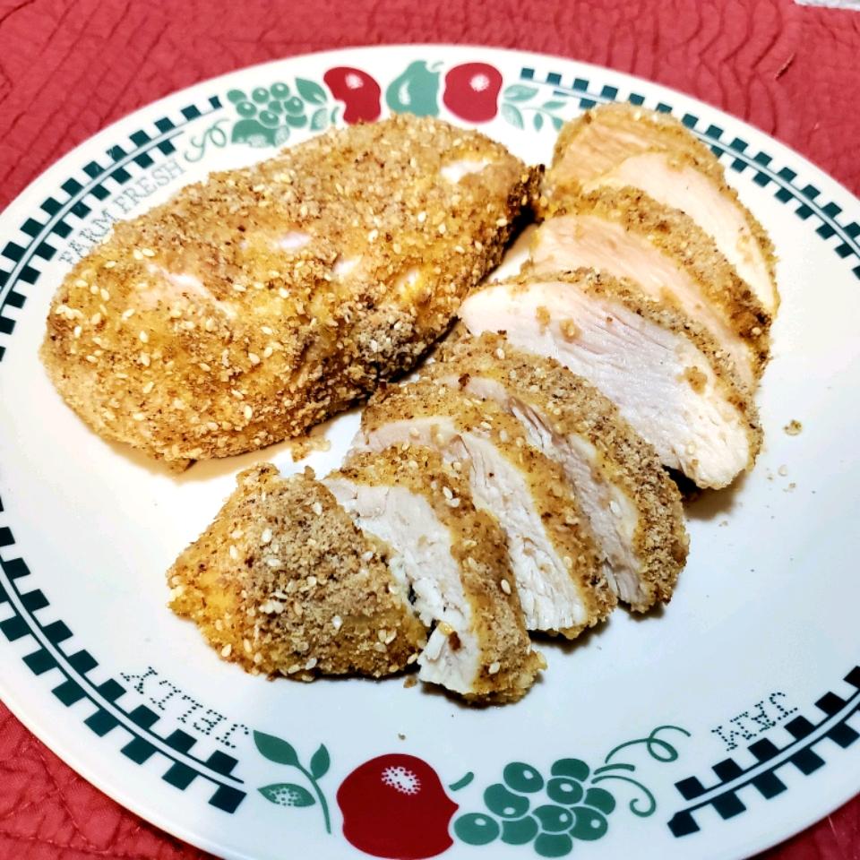 Parmesan Sesame Chicken