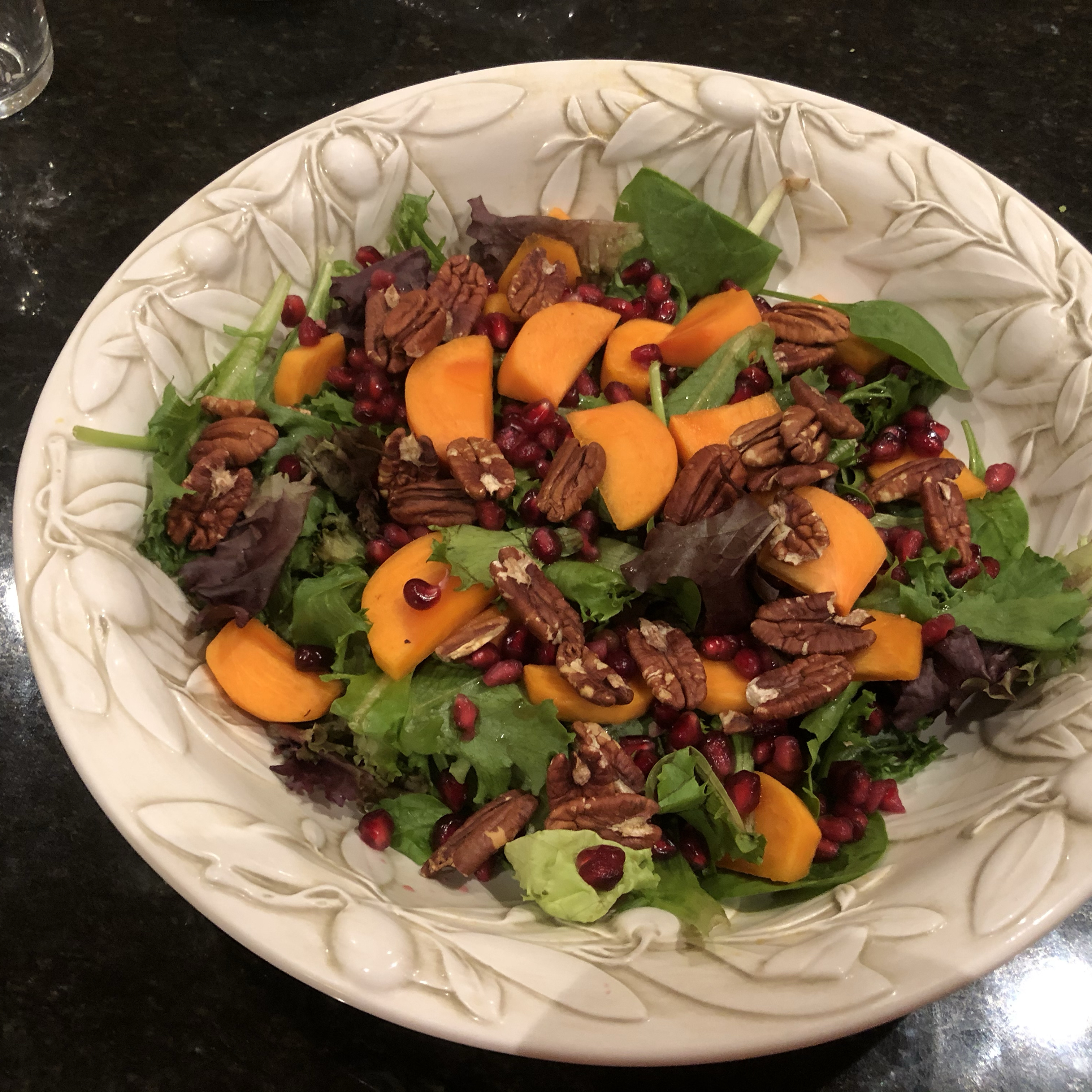 Persimmon and Pomegranate Salad PCT