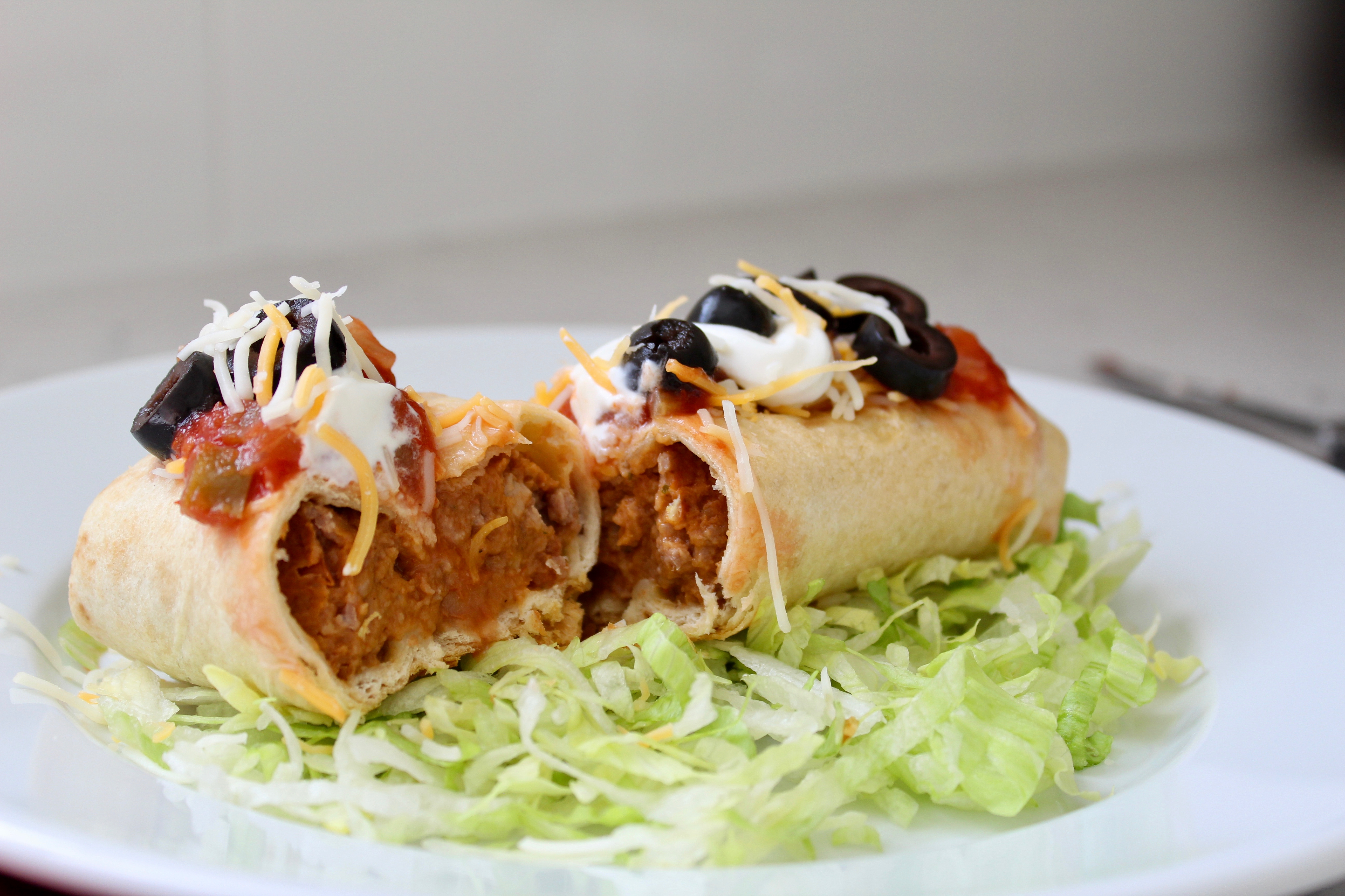 Impossible™ Baked Chimichangas