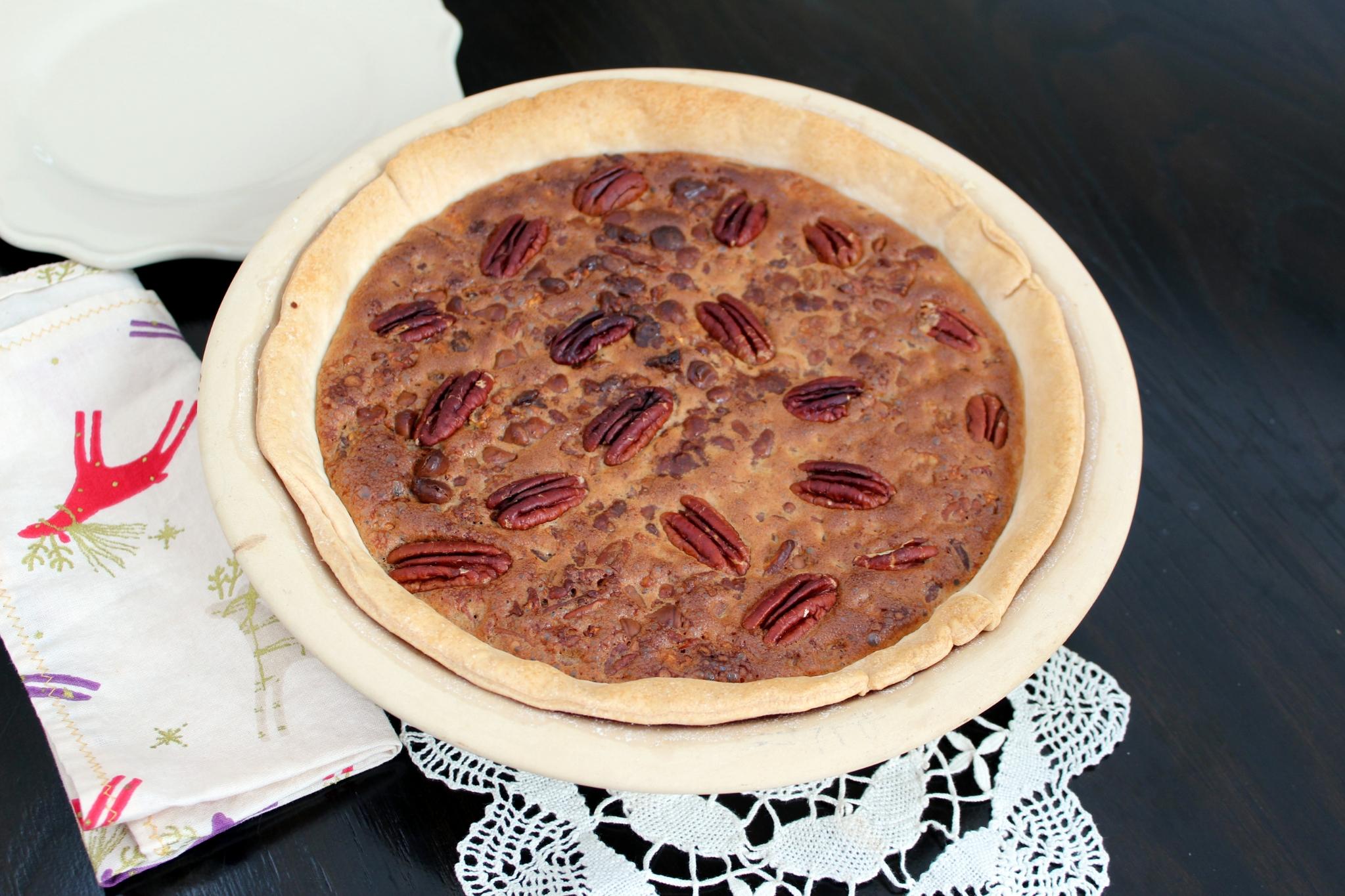 Chocolate Pecan Pie II Chef Mo