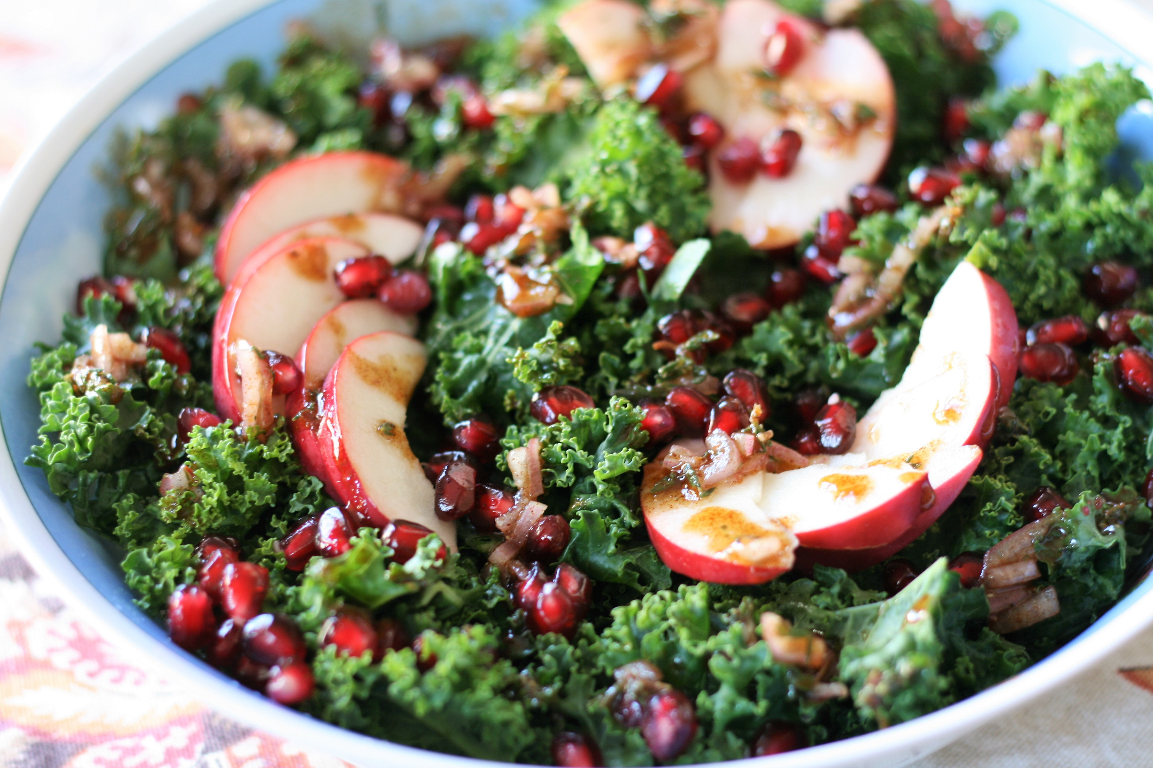 Healthy Apple and Kale Salad