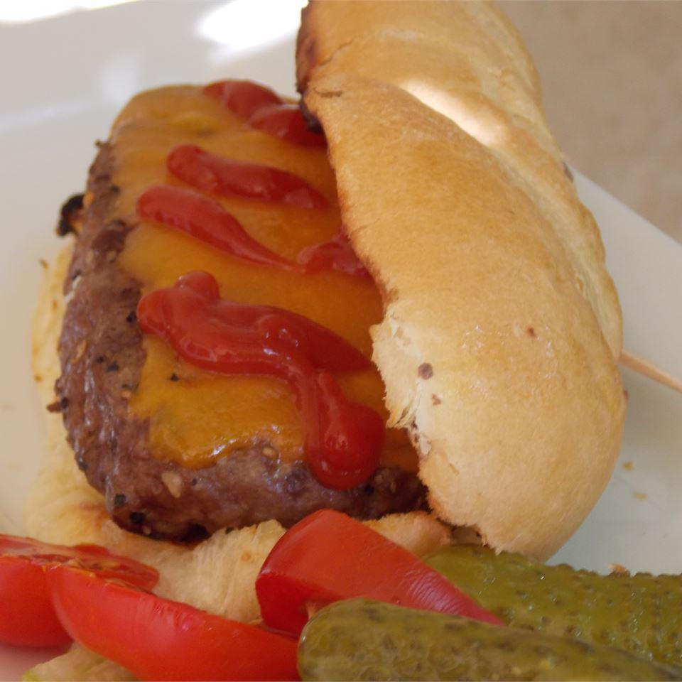 All-American Burger Dog Baking Nana