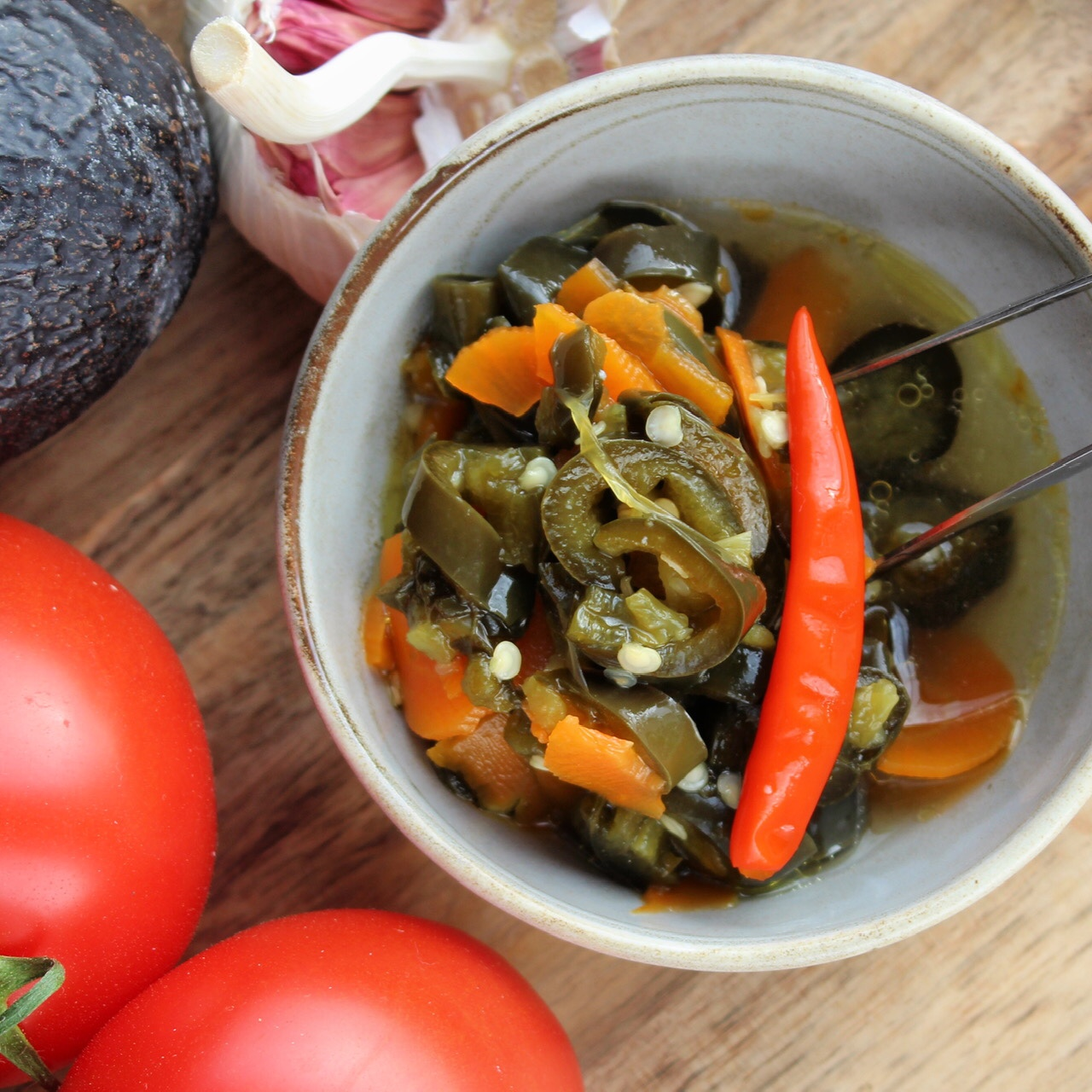 Instant Pot® Pickled Jalapeno Rings Buckwheat Queen