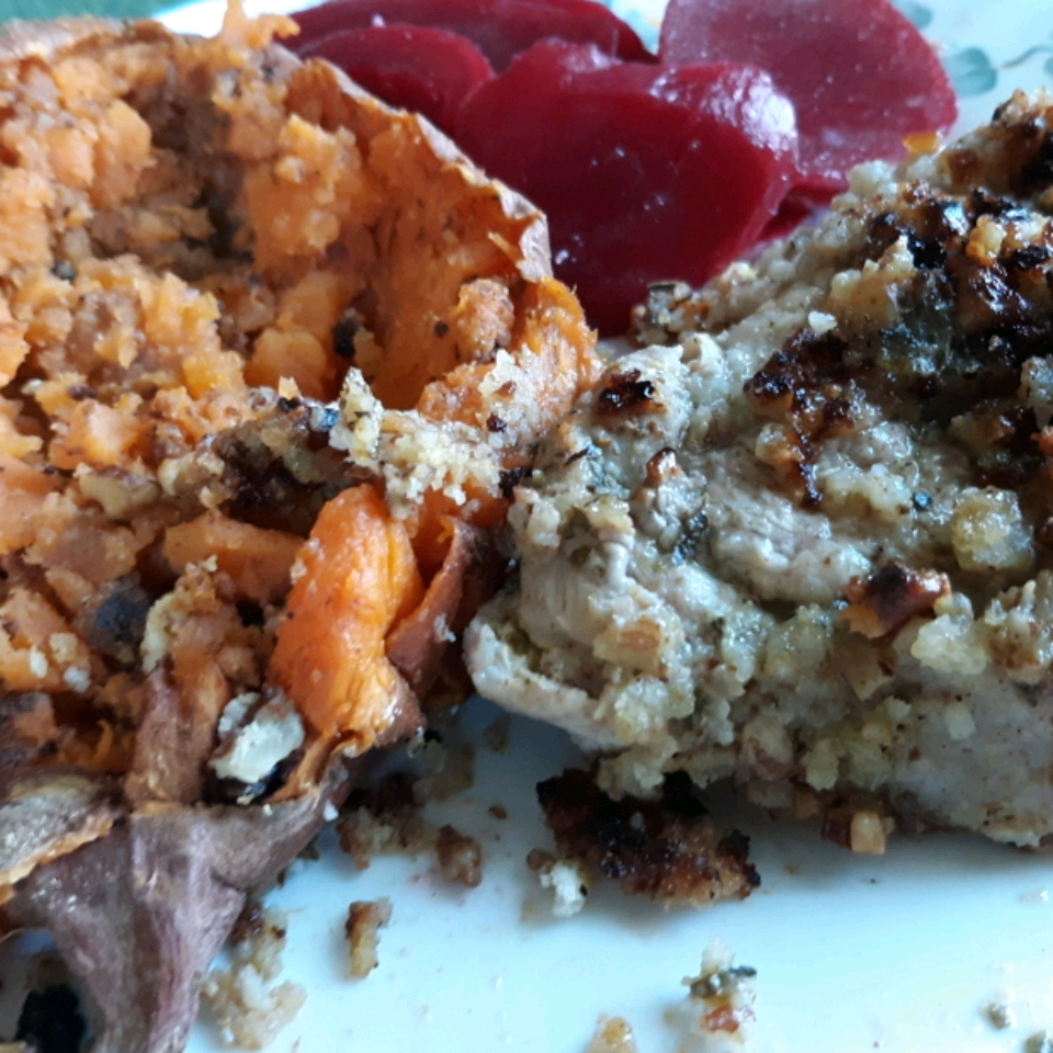 Steakhouse Pecan Pork Chops Joanna Jones