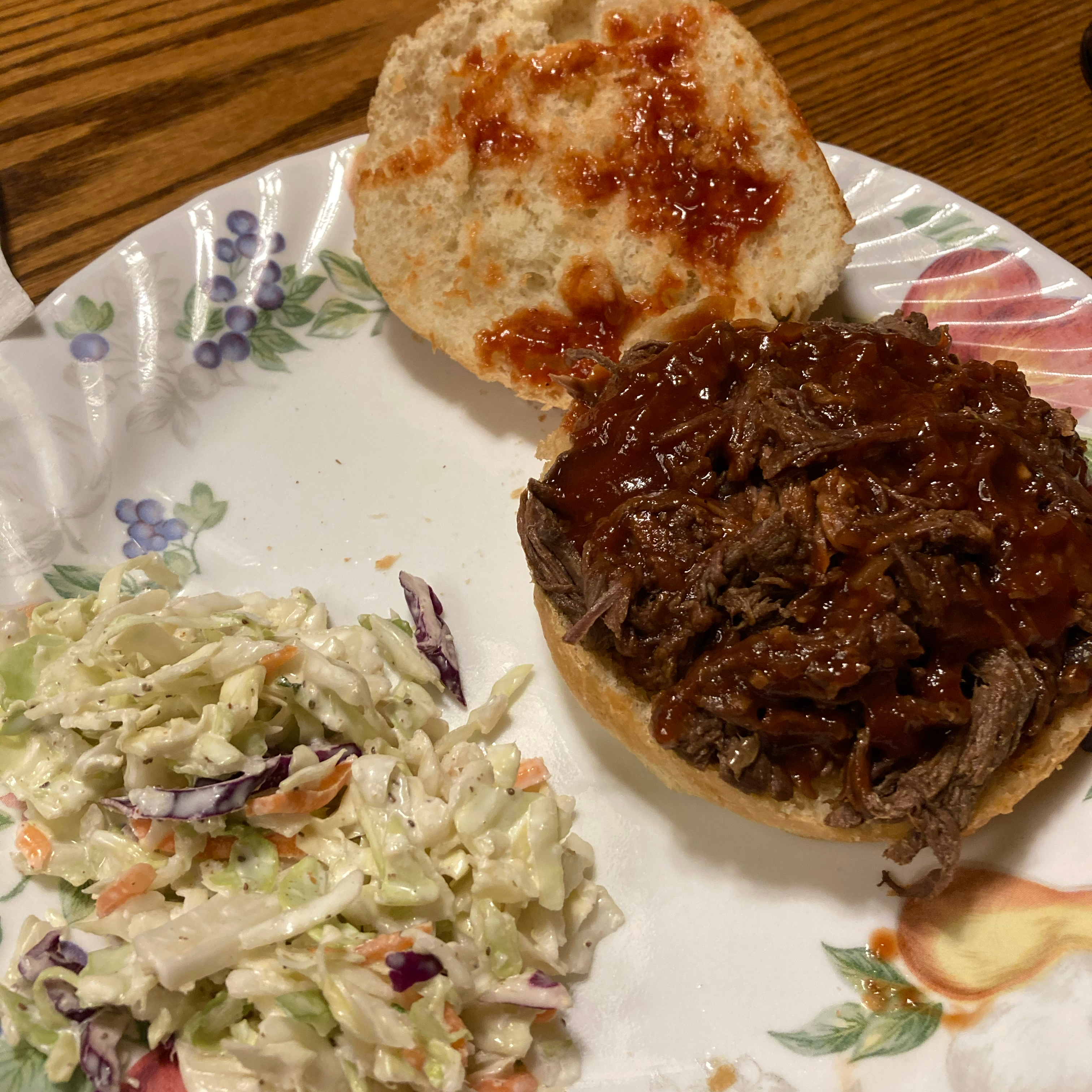 Slow Cooker Barbecue Goose Sandwich